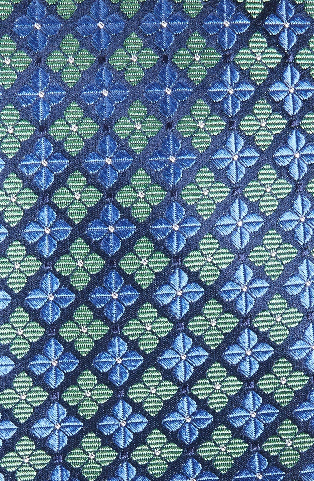 Alternate Image 2  - Nordstrom Men's Shop Shamrock Silk Tie