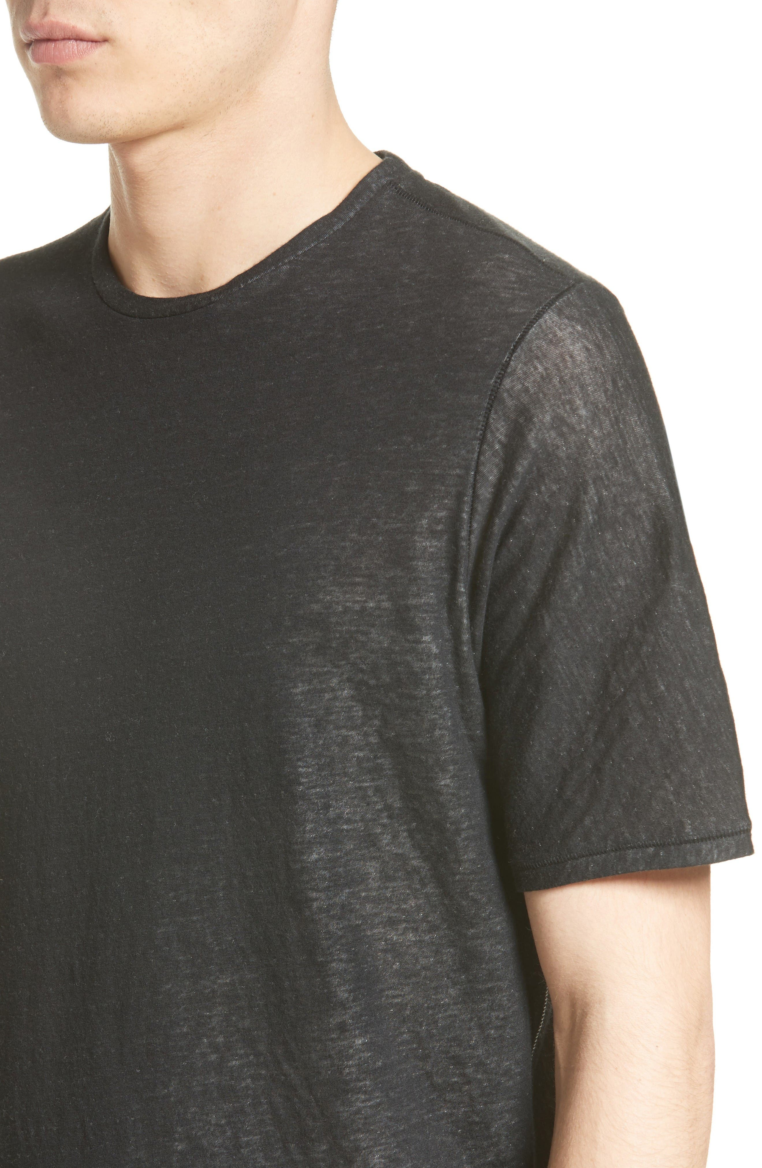 Alternate Image 4  - rag & bone Rigby Double Layer T-Shirt