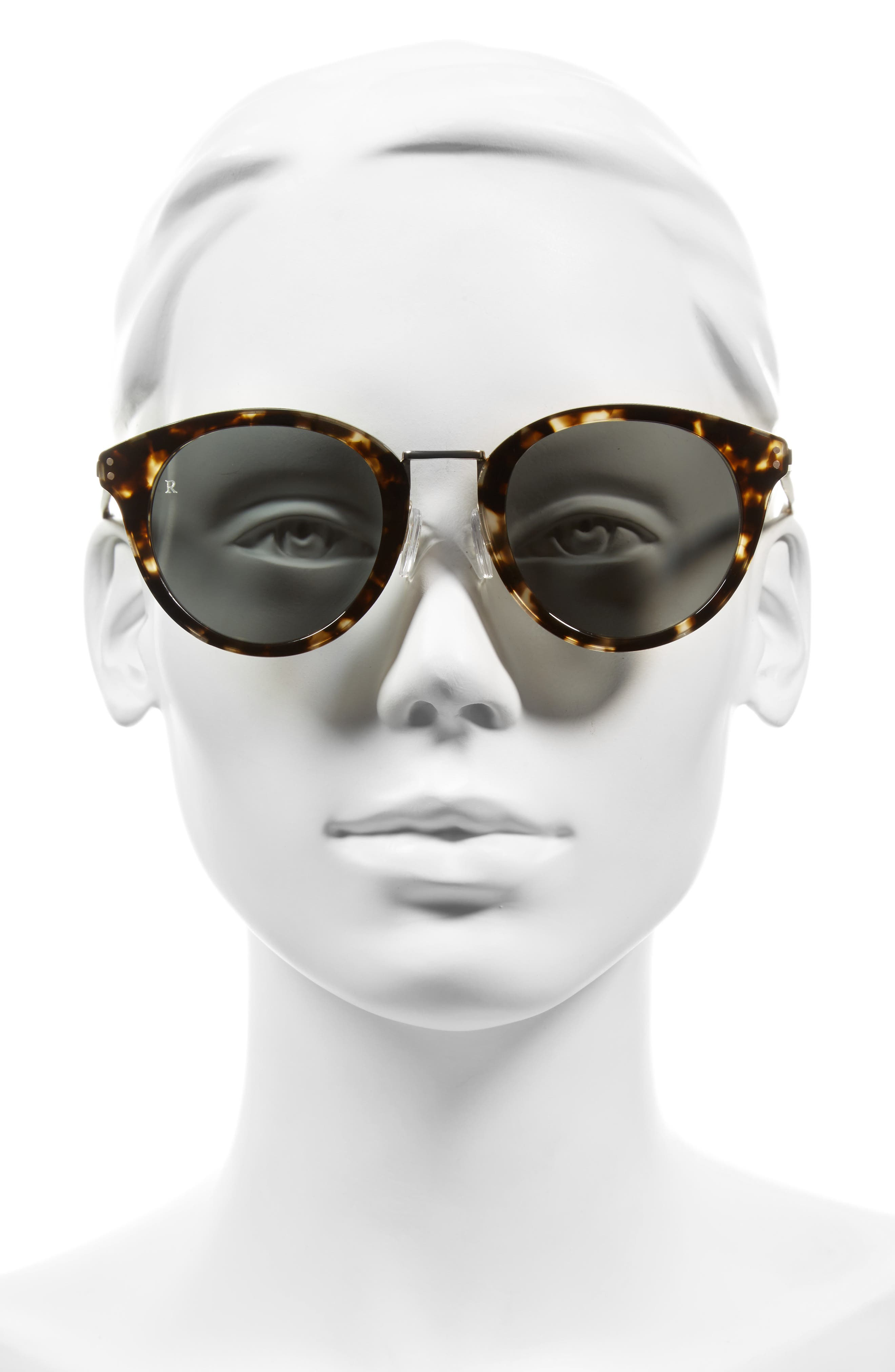 Potrero 50mm Sunglasses,                             Alternate thumbnail 2, color,                             Brindle Tortoise