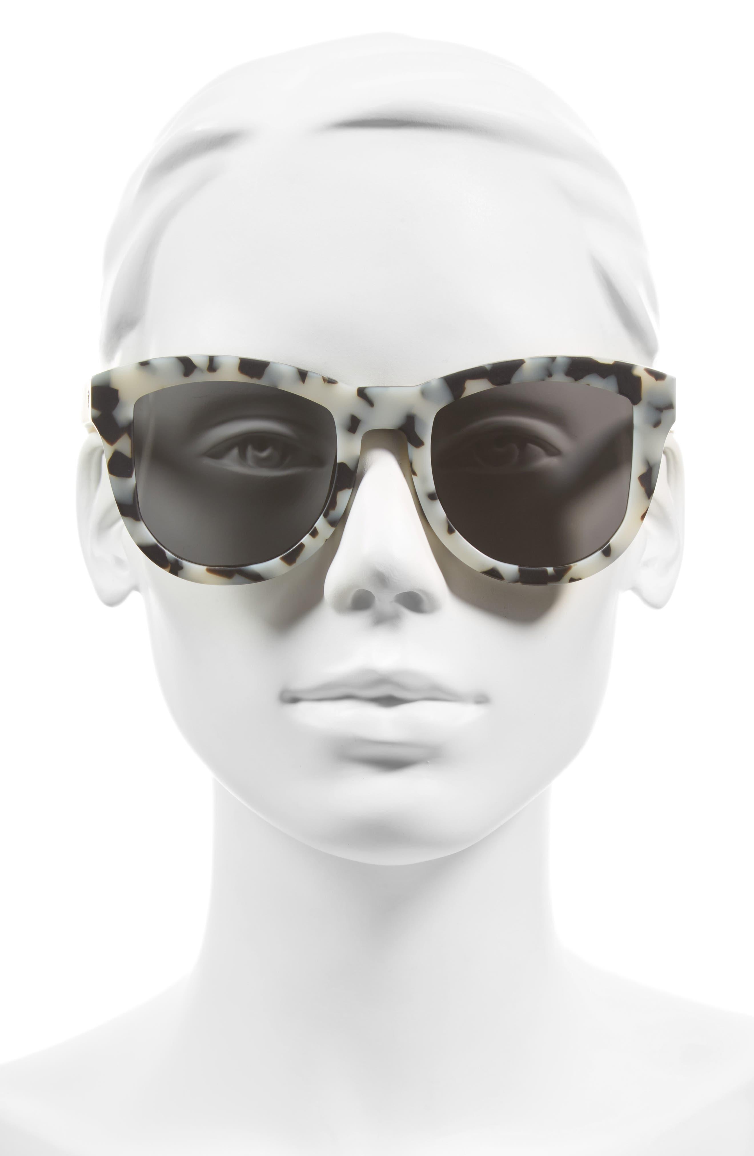 Alternate Image 2  - VALLEY 50mm Trachea Retro Sunglasses