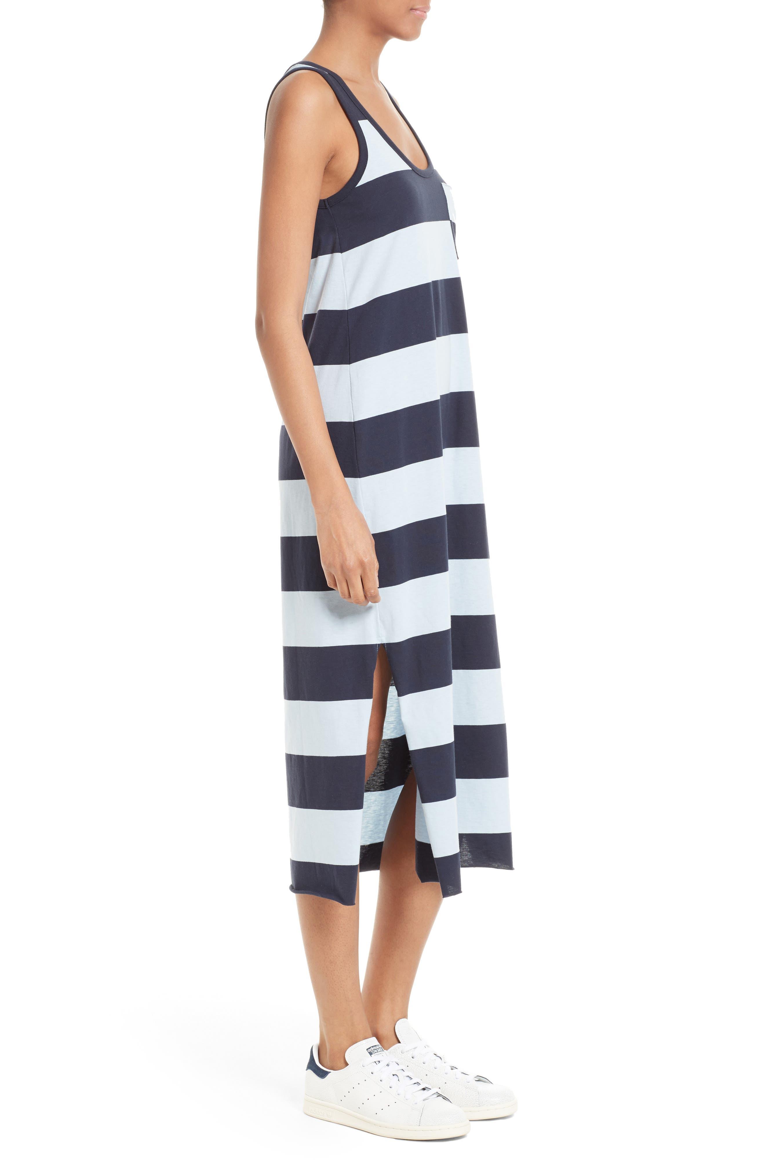 Alternate Image 5  - ATM Anthony Thomas Melillo Stripe Mercerized Jersey Dress