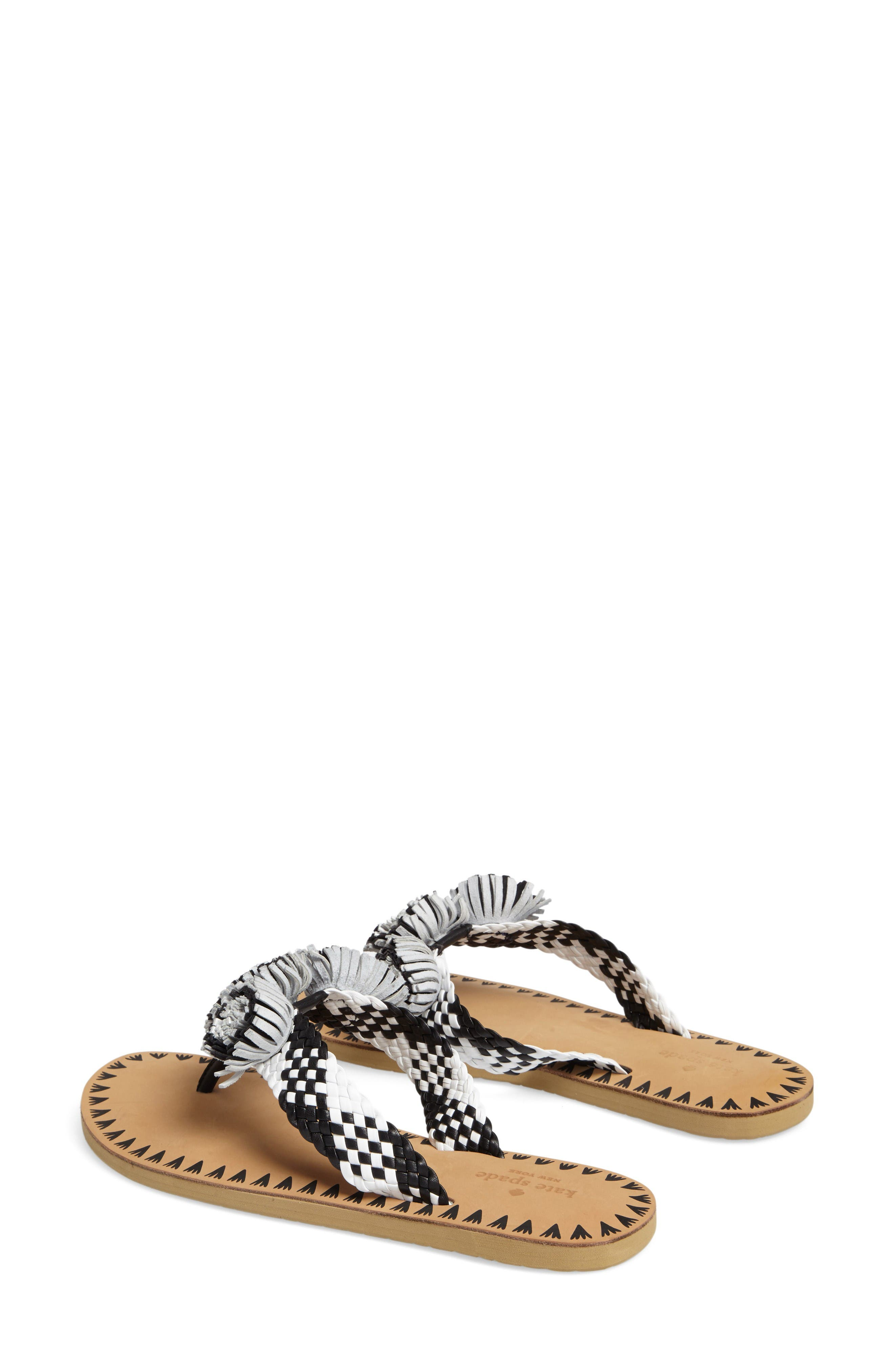 Alternate Image 3  - kate spade new york idette fringe flip flop (Women)