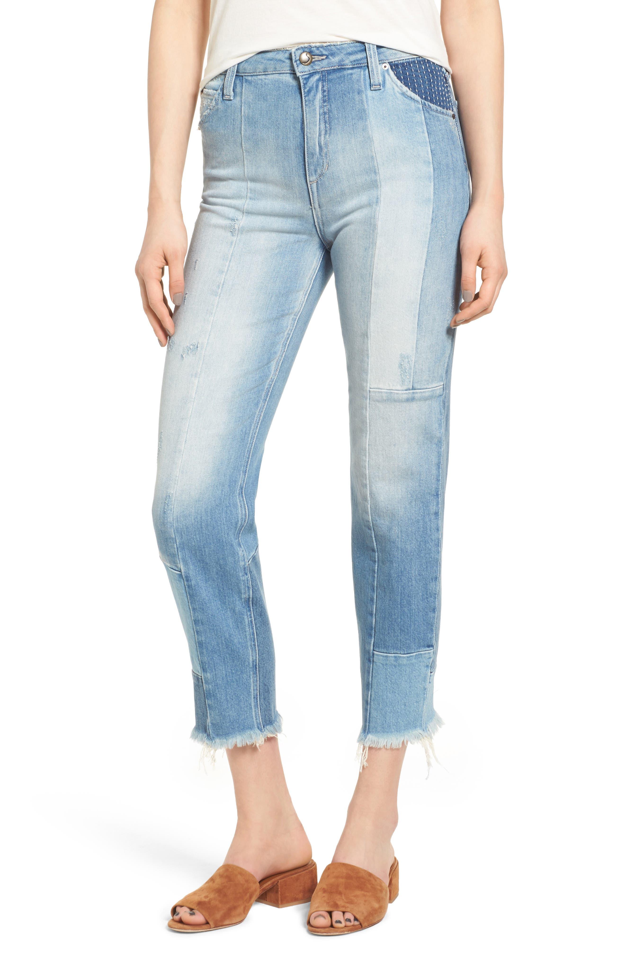 Joe's Jeans Bella Straight Crop Jeans (Sofia)