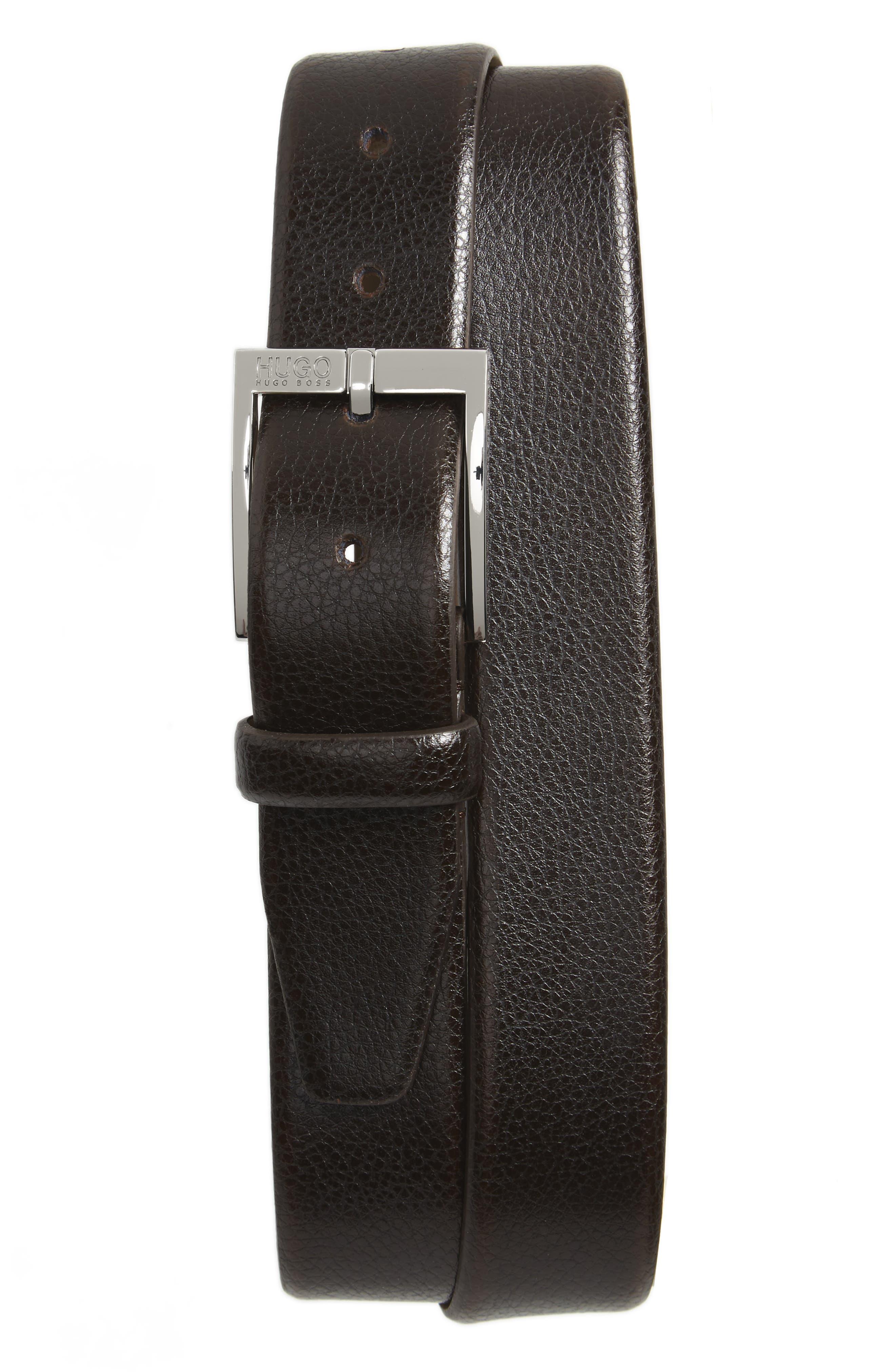 BOSS C-Elloy Leather Belt