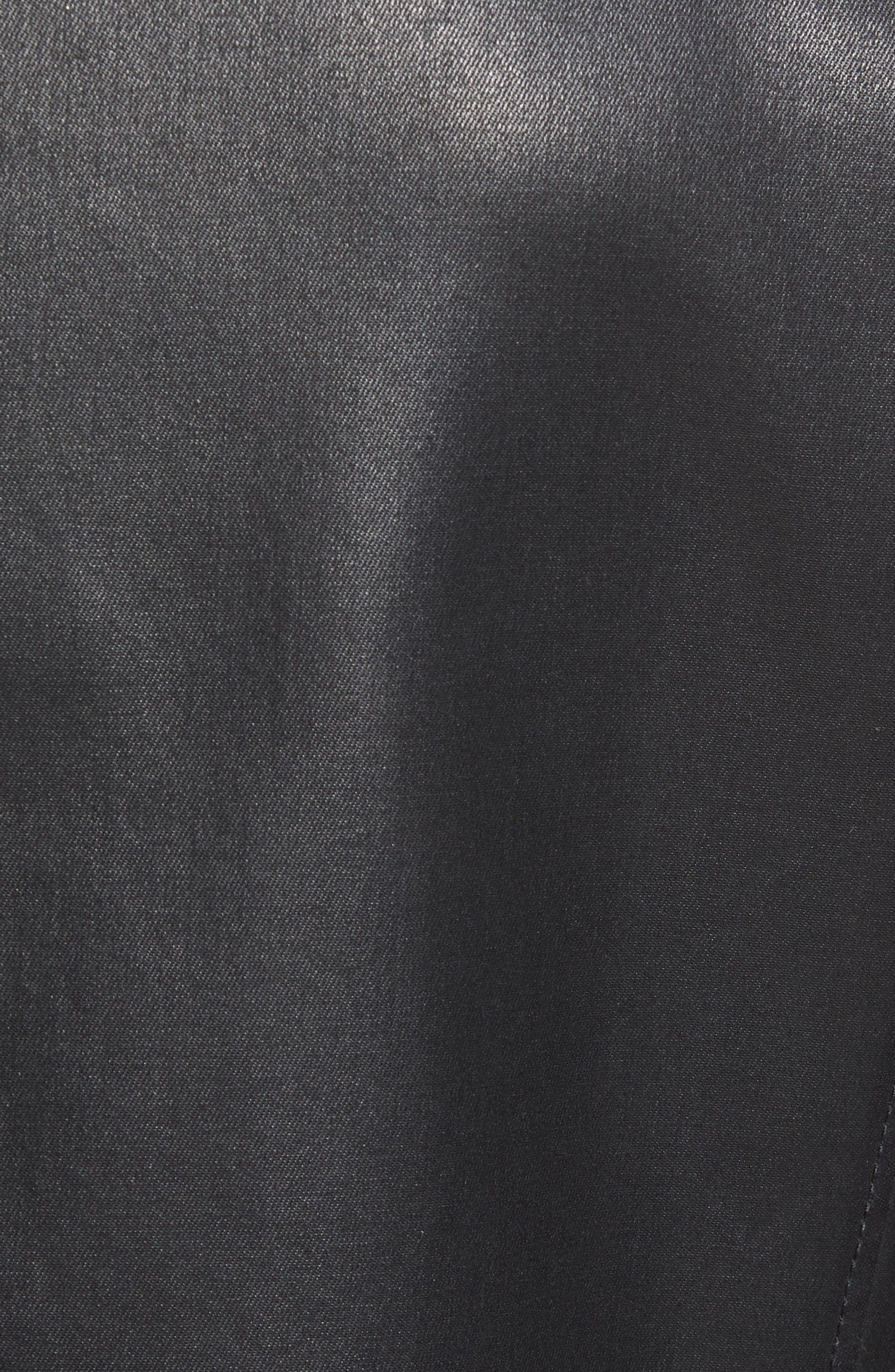 Alternate Image 5  - John Varvatos Star USA Coated Moto Jacket