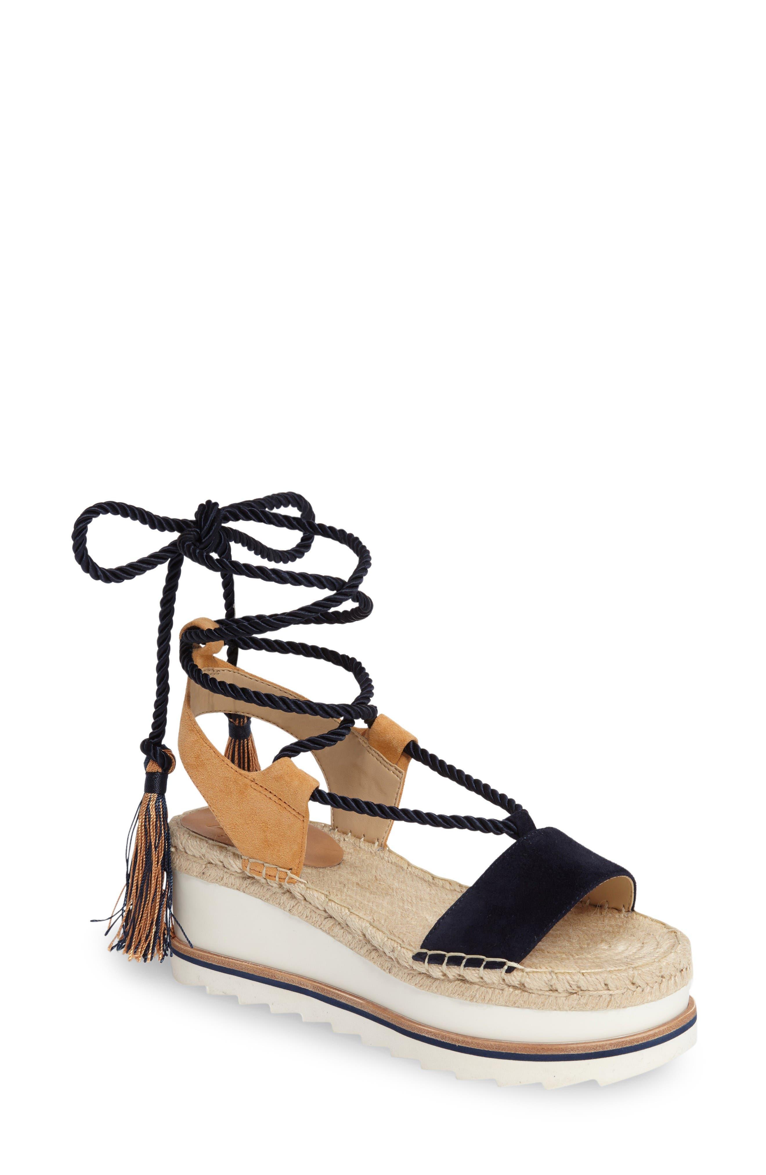 Alternate Image 1 Selected - Marc Fisher LTD Gerald Platform Sandal (Women)