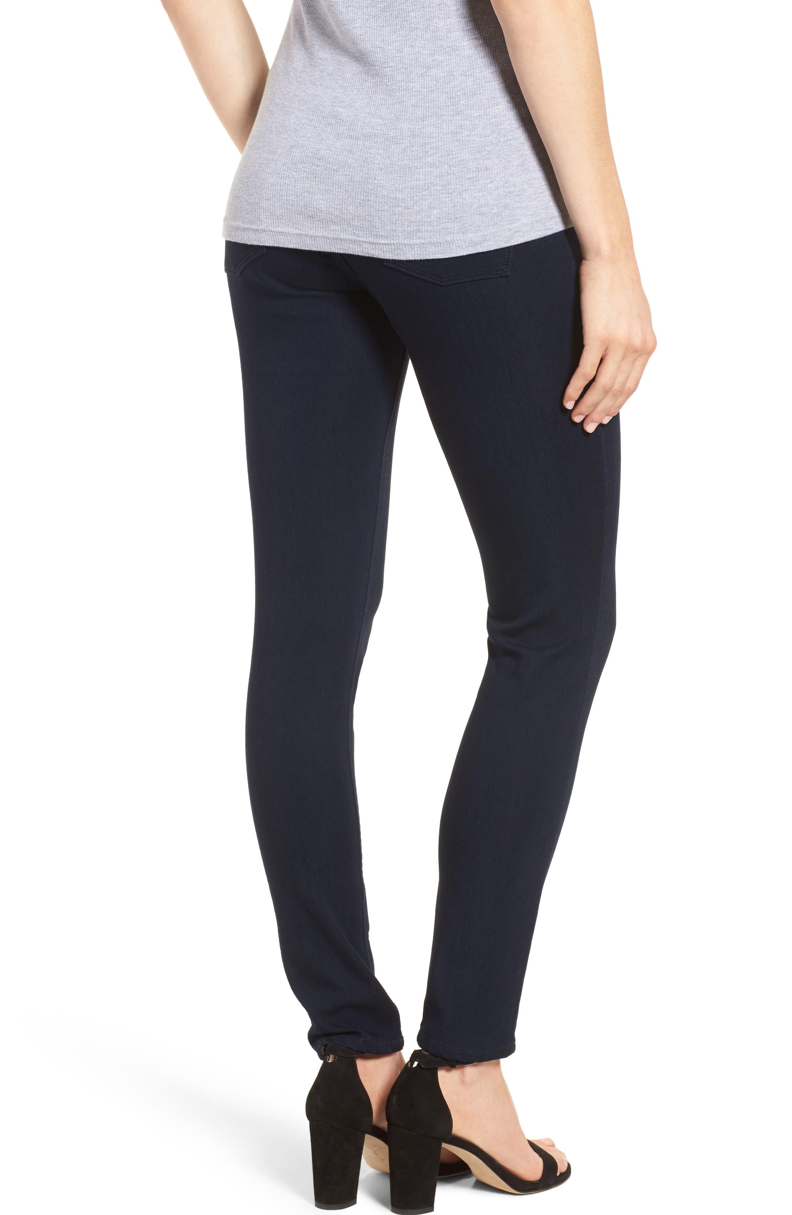 Emma Power Legging Maternity Jeans,                             Alternate thumbnail 2, color,                             Flatiron