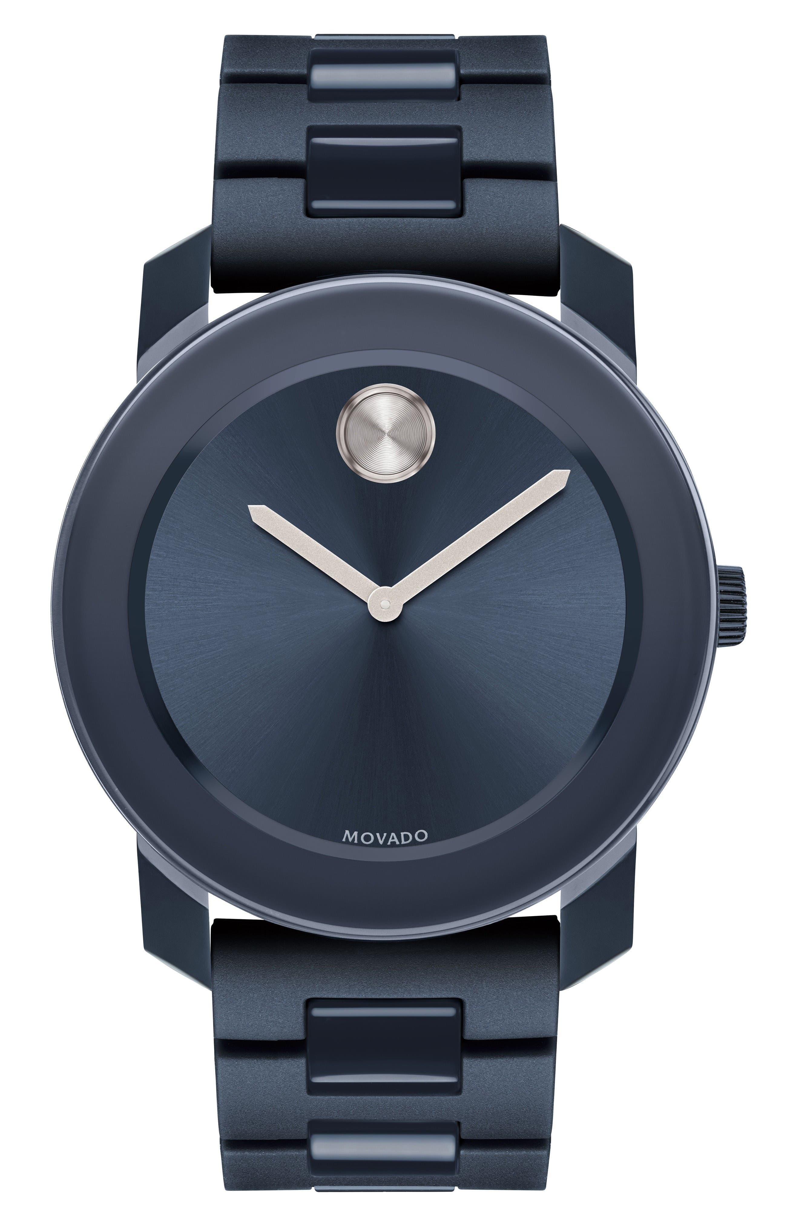 MOVADO Large Bold Bracelet Watch, 42mm
