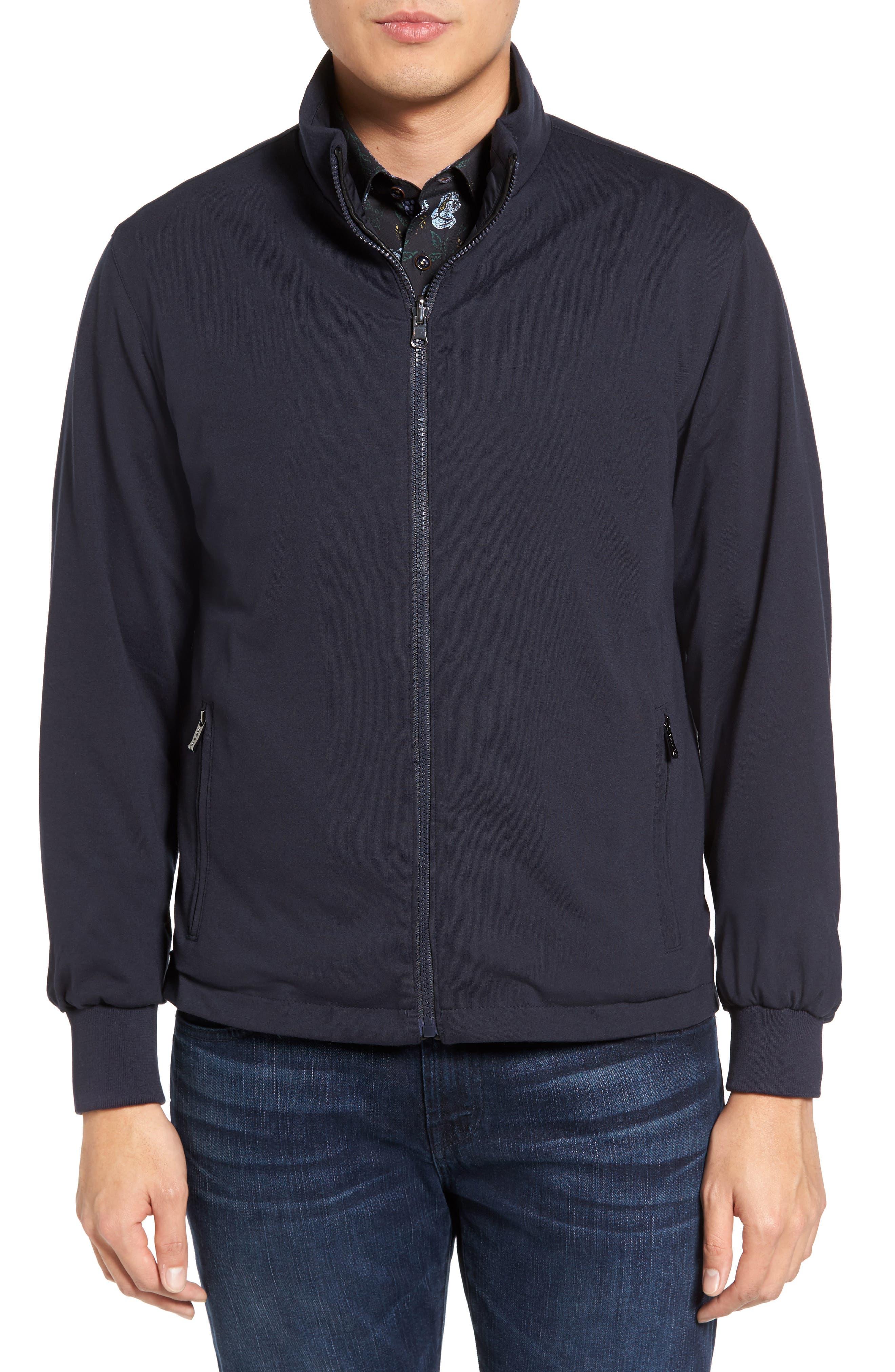 Reversible Jacket,                             Alternate thumbnail 4, color,                             Navy