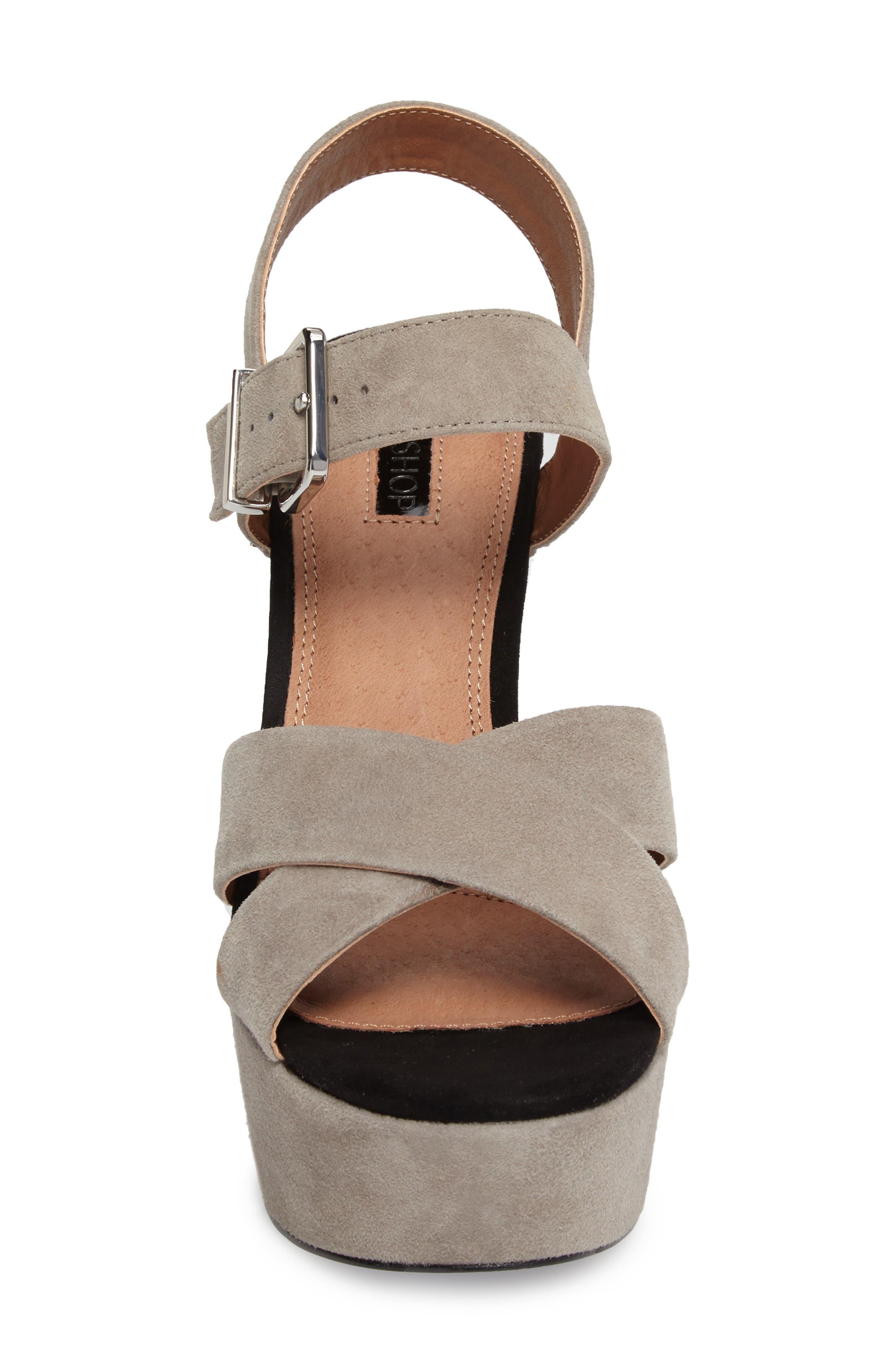 Alternate Image 4  - Topshop Layla Platform Sandal (Women)