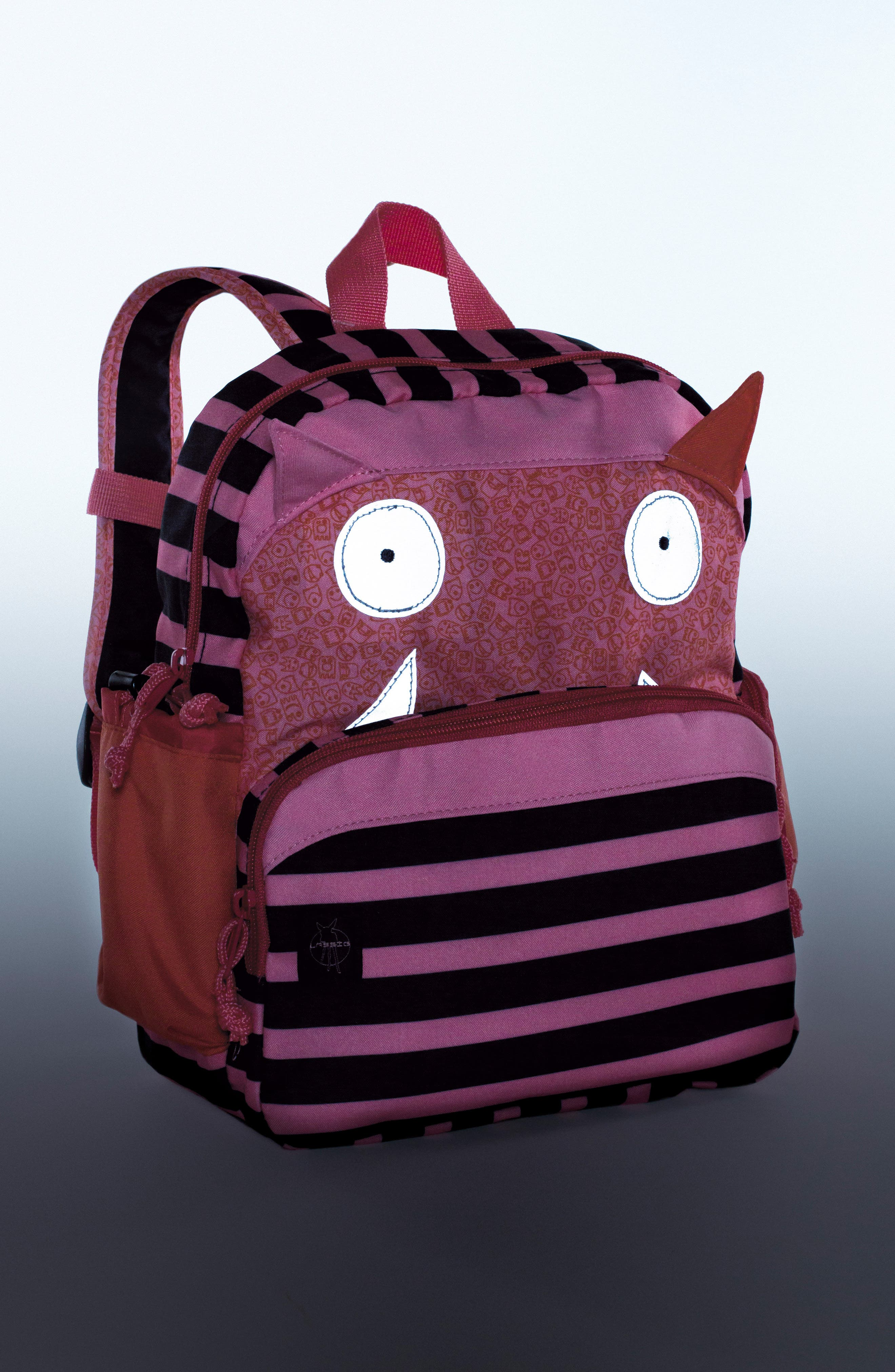 Alternate Image 2  - Lässig Little Monster Glow in the Dark Mini Backpack (Kids)