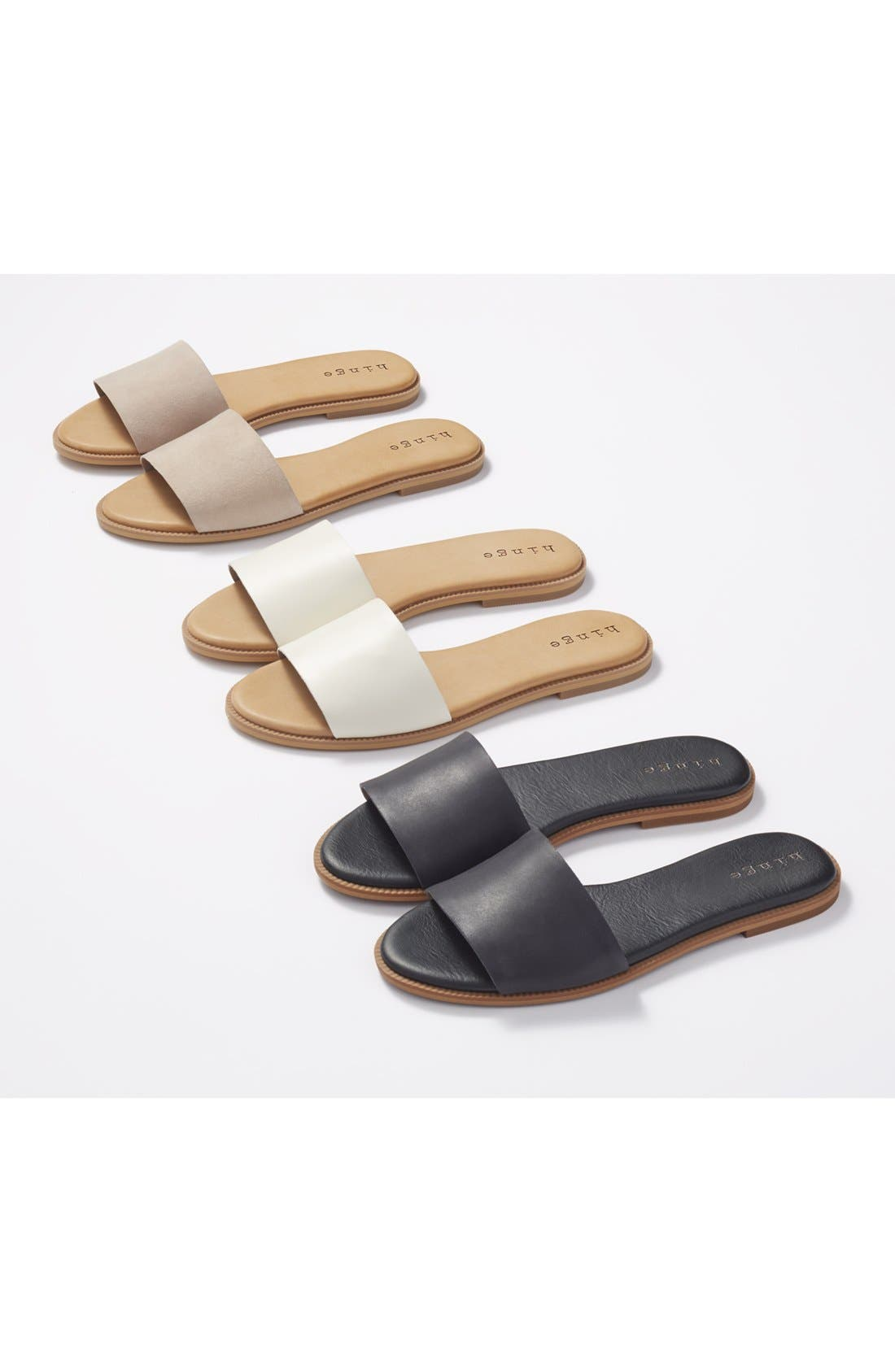 Alternate Image 5  - Hinge 'Mere' Flat Slide Sandal (Women)