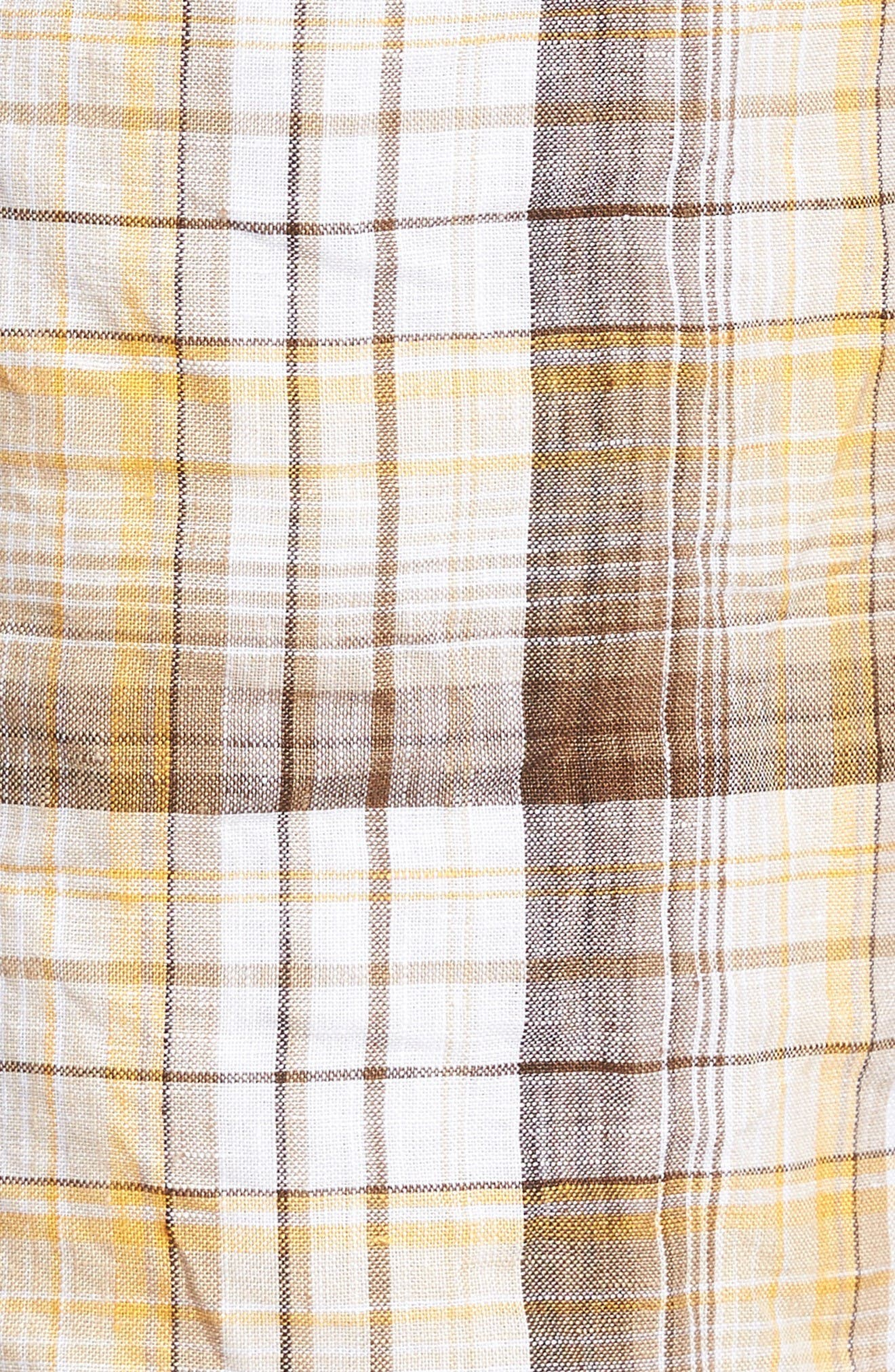 Alternate Image 5  - Tommy Bahama Island Duo Reversible Linen Shorts