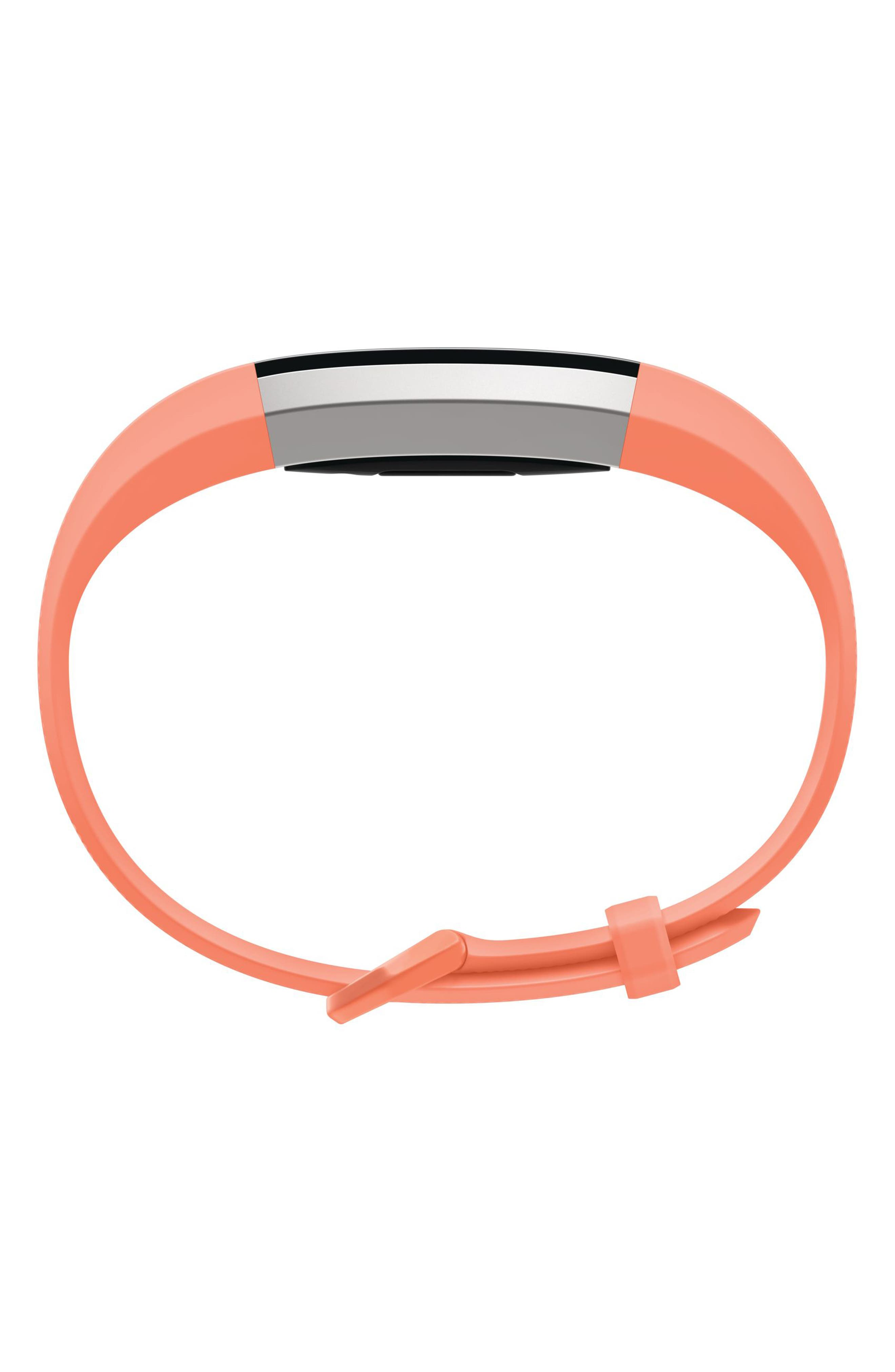 Alta HR Wireless Heart Rate and Fitness Tracker,                             Alternate thumbnail 3, color,                             Coral