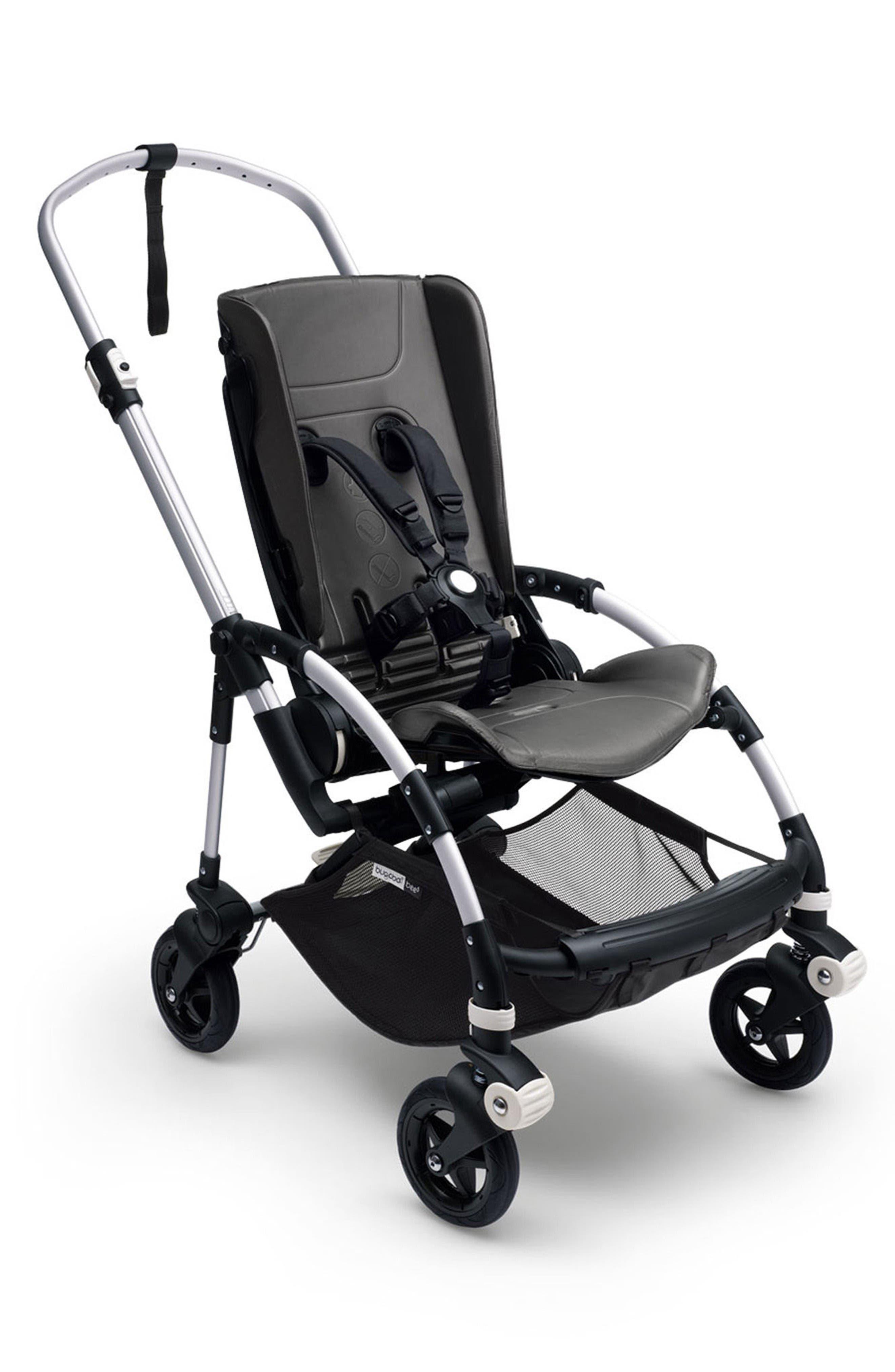 Bee5 Stroller Base,                         Main,                         color, Aluminum