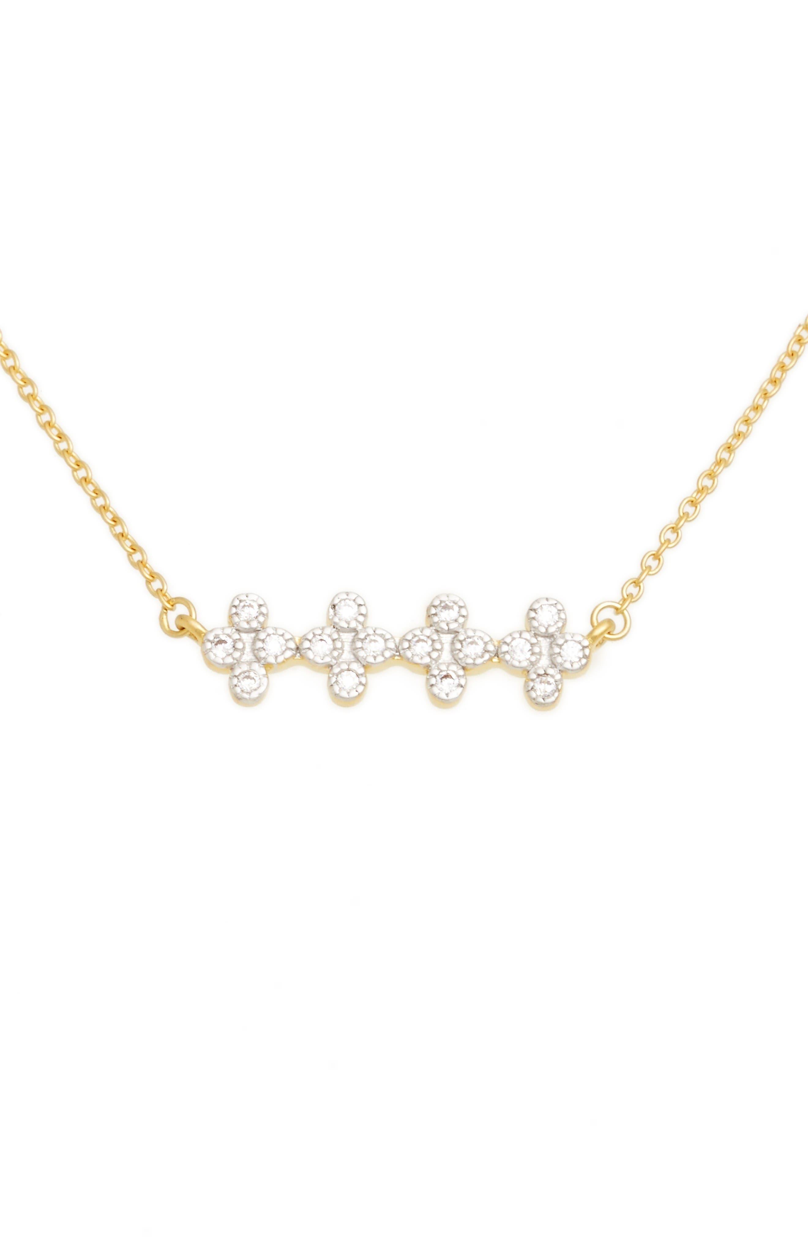 FREIDA ROTHMAN Visionary Fusion Crystal Necklace