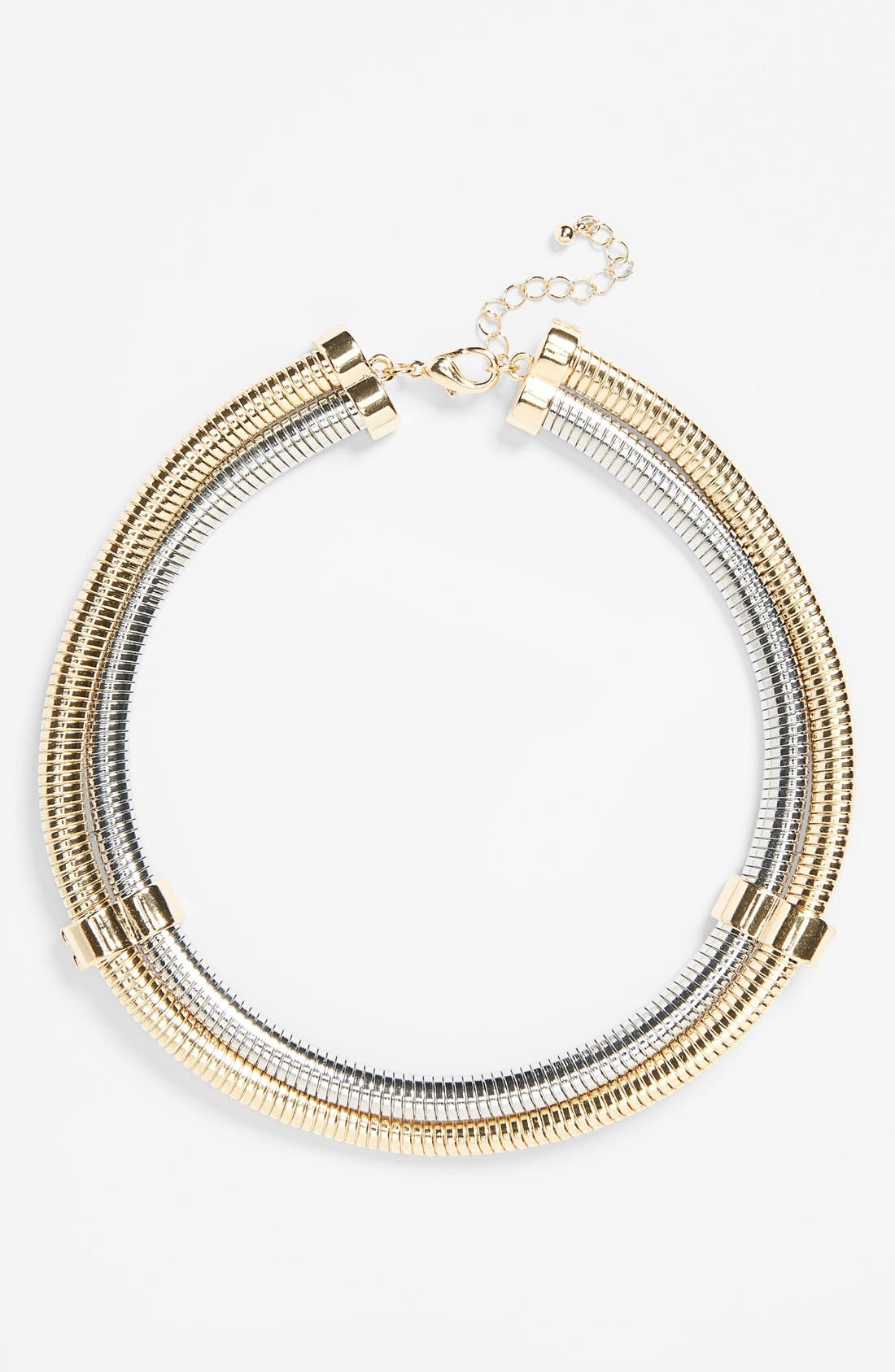 Main Image - Topshop High Collar Necklace