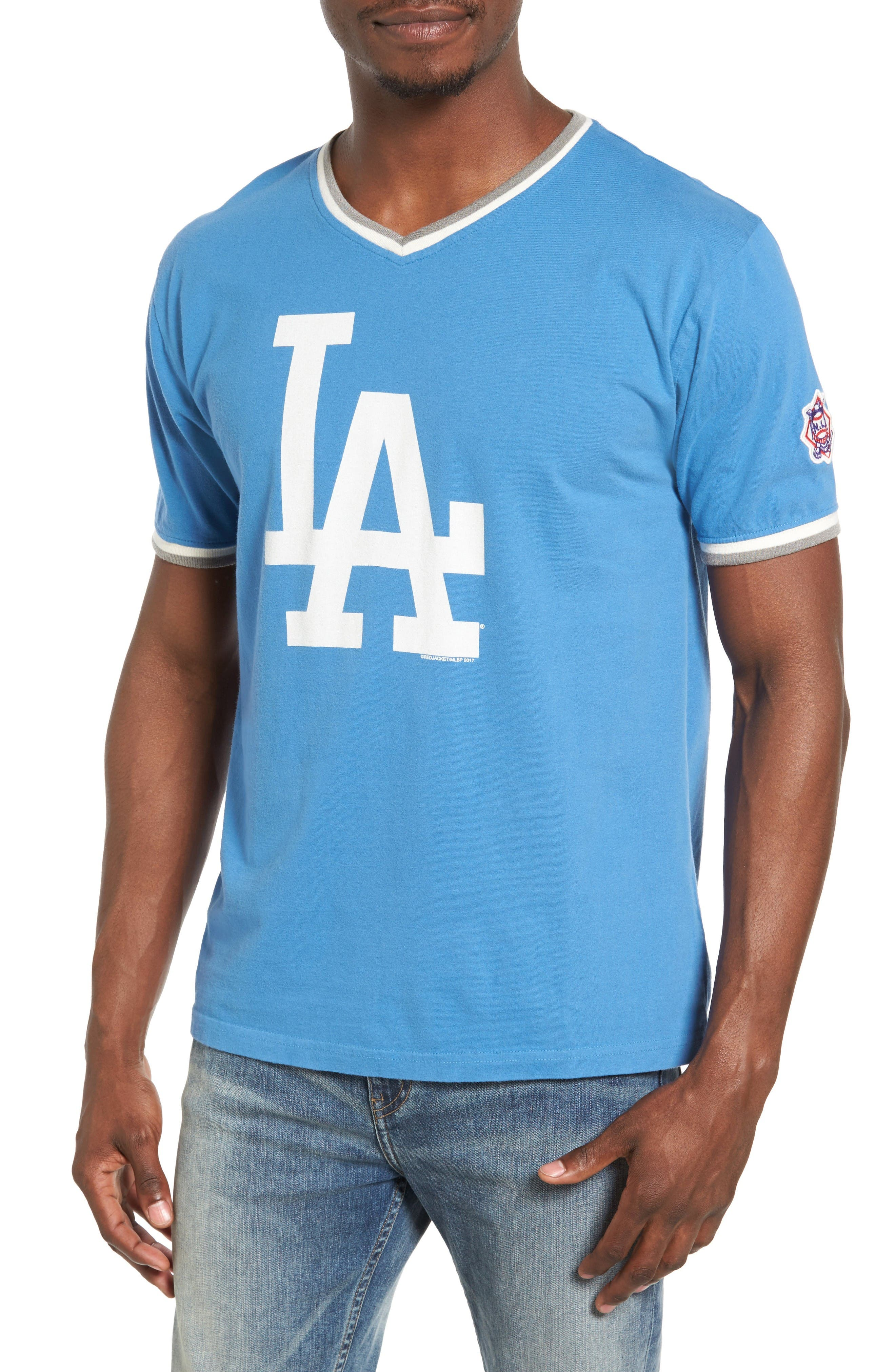 Eastwood Los Angeles Dodgers T-Shirt,                             Main thumbnail 1, color,                             Royal