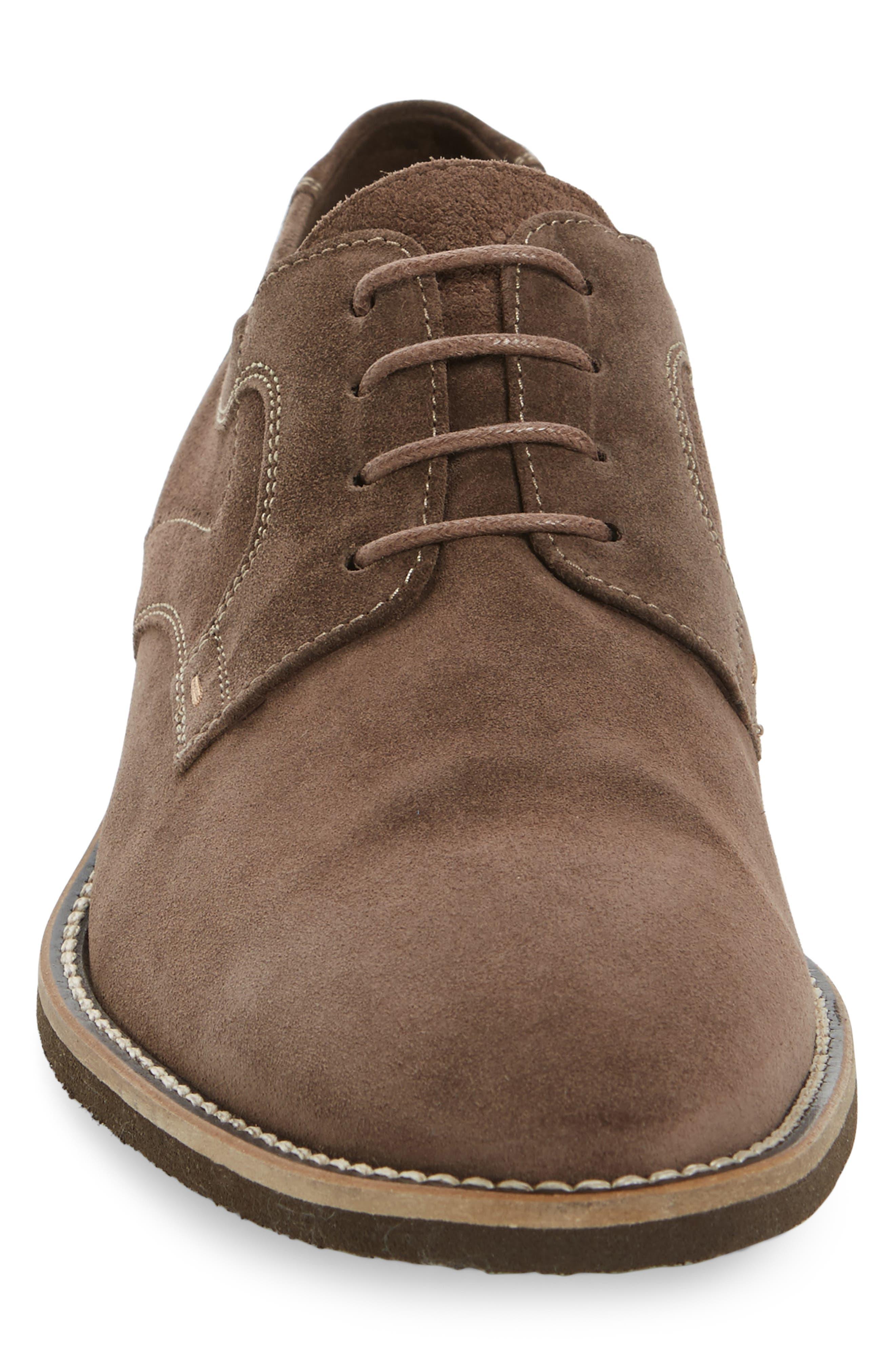 Haarlem Buck Shoe,                             Alternate thumbnail 4, color,                             Noce Brown