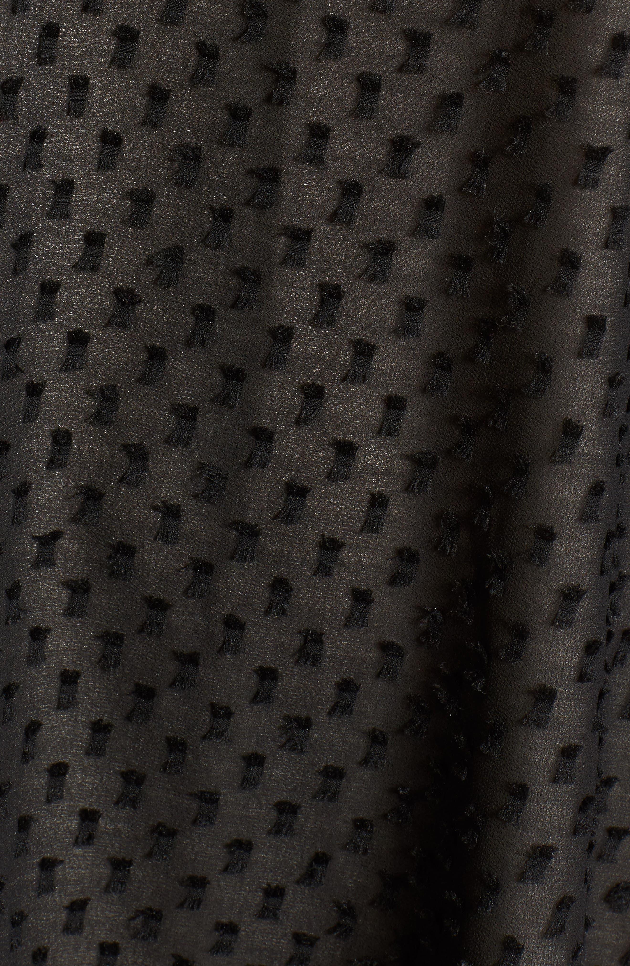 Alyssa Minidress,                             Alternate thumbnail 5, color,                             Black