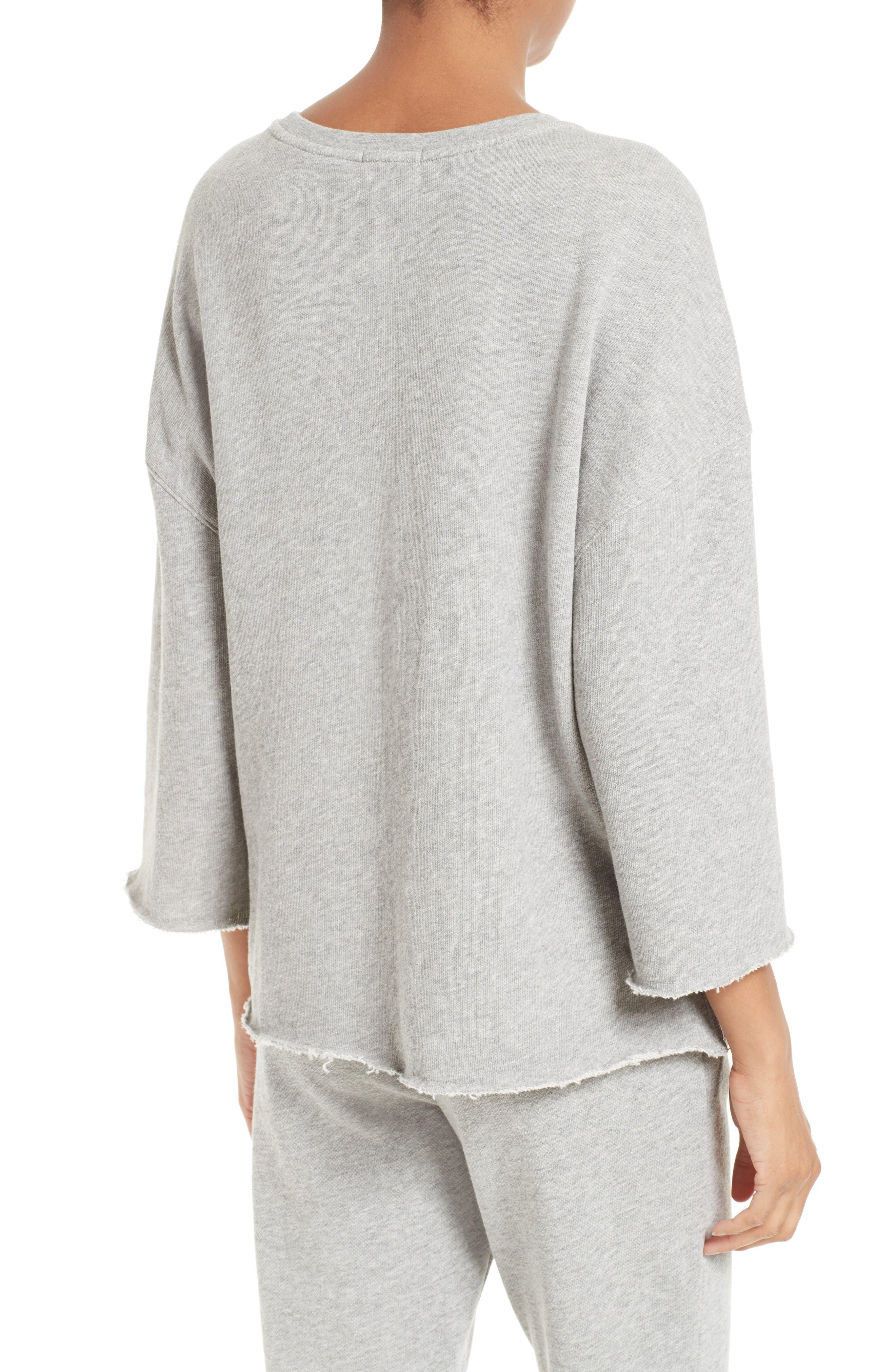 Pocket Sweatshirt,                             Alternate thumbnail 3, color,                             Marble
