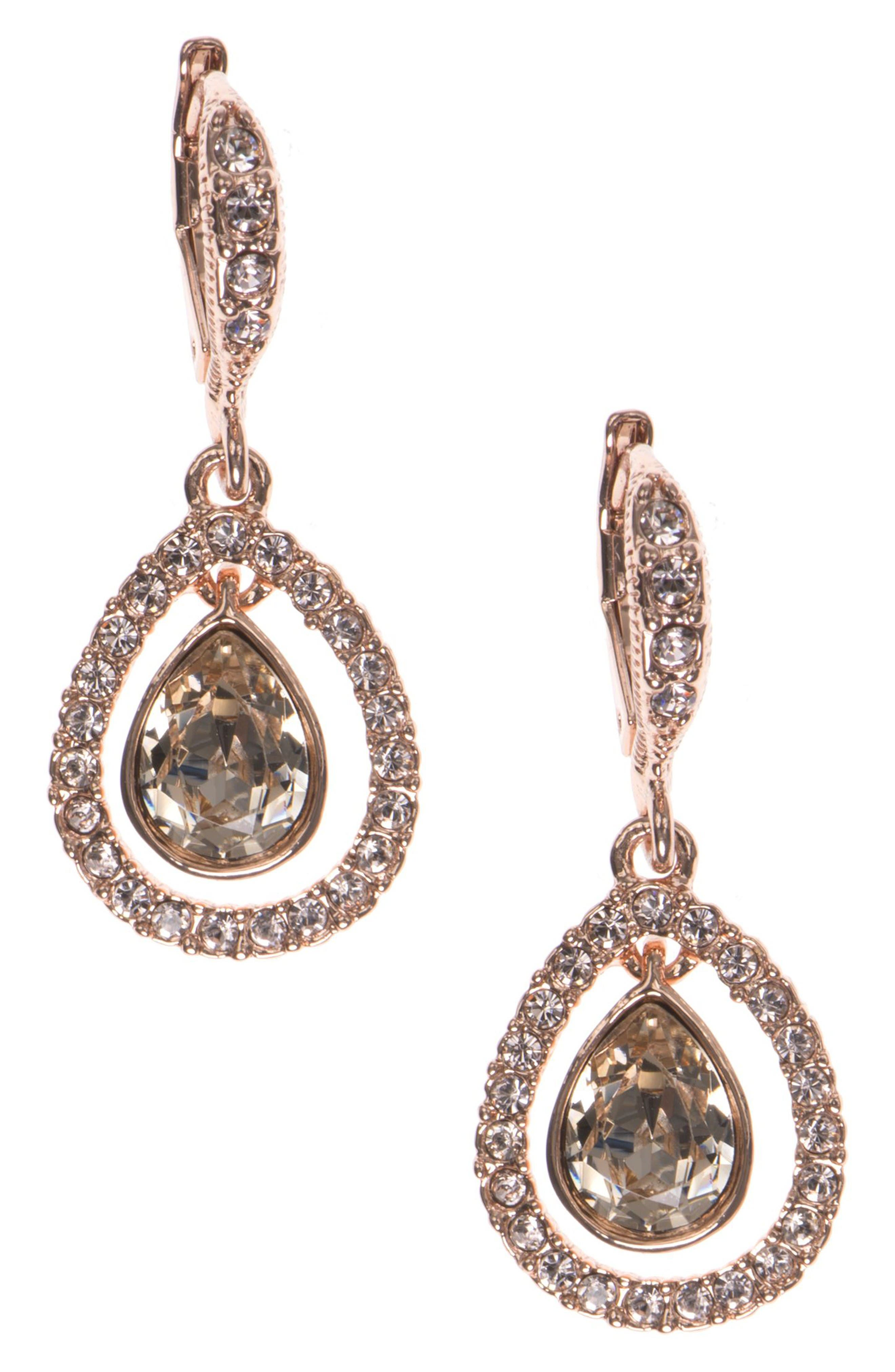 Main Image - Givenchy Crystal Drop Earrings