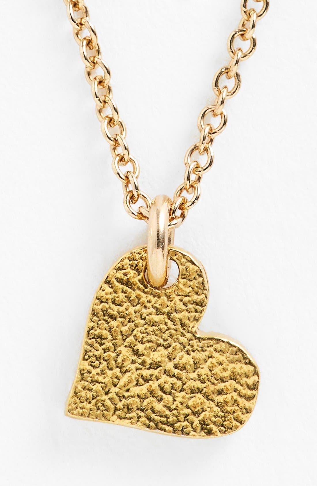 Alternate Image 4  - Dogeared 'Sparkle Heart' Boxed Pendant Necklace