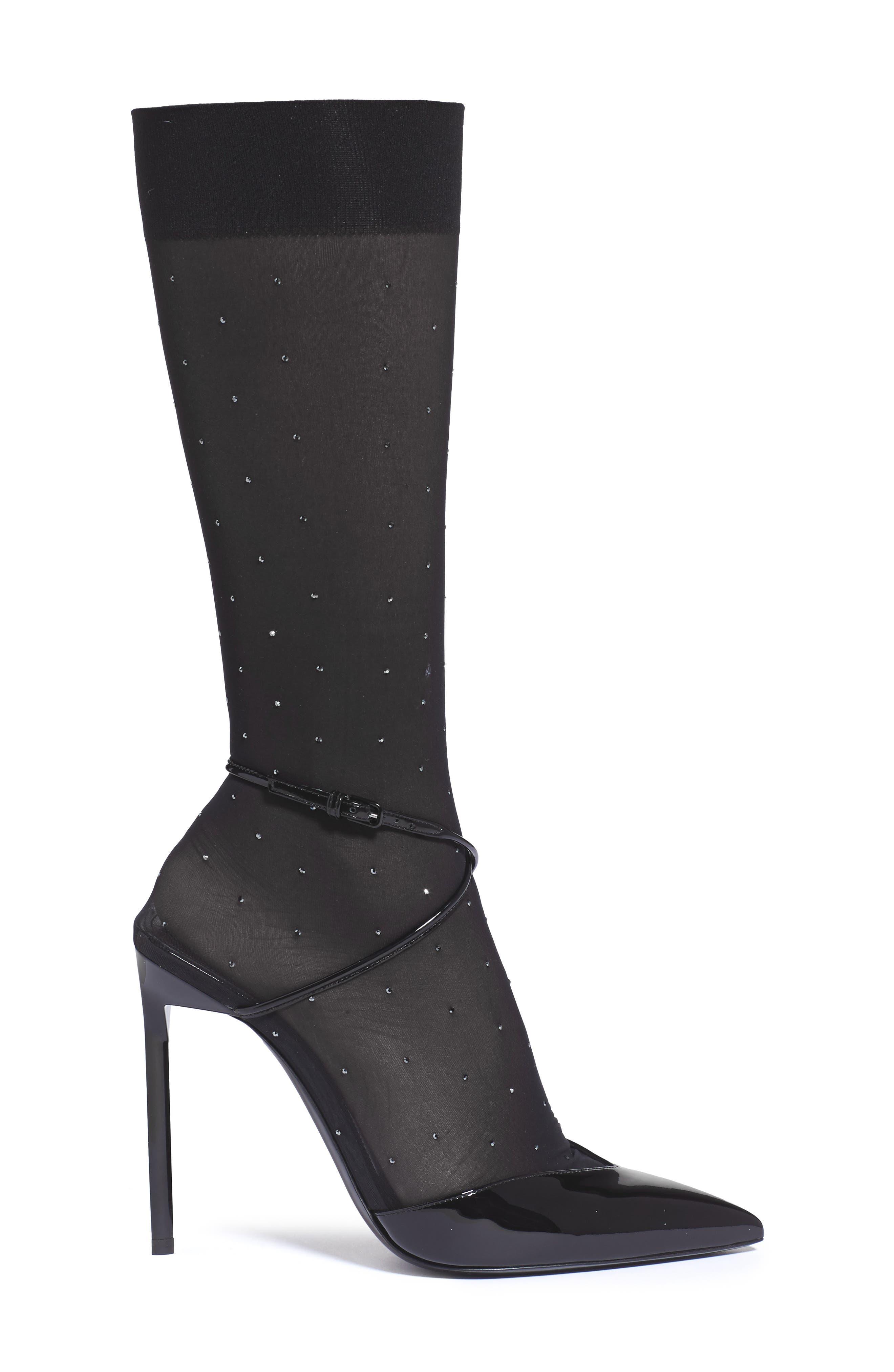 Alternate Image 3  - Saint Laurent Edie Sock Pump (Women)