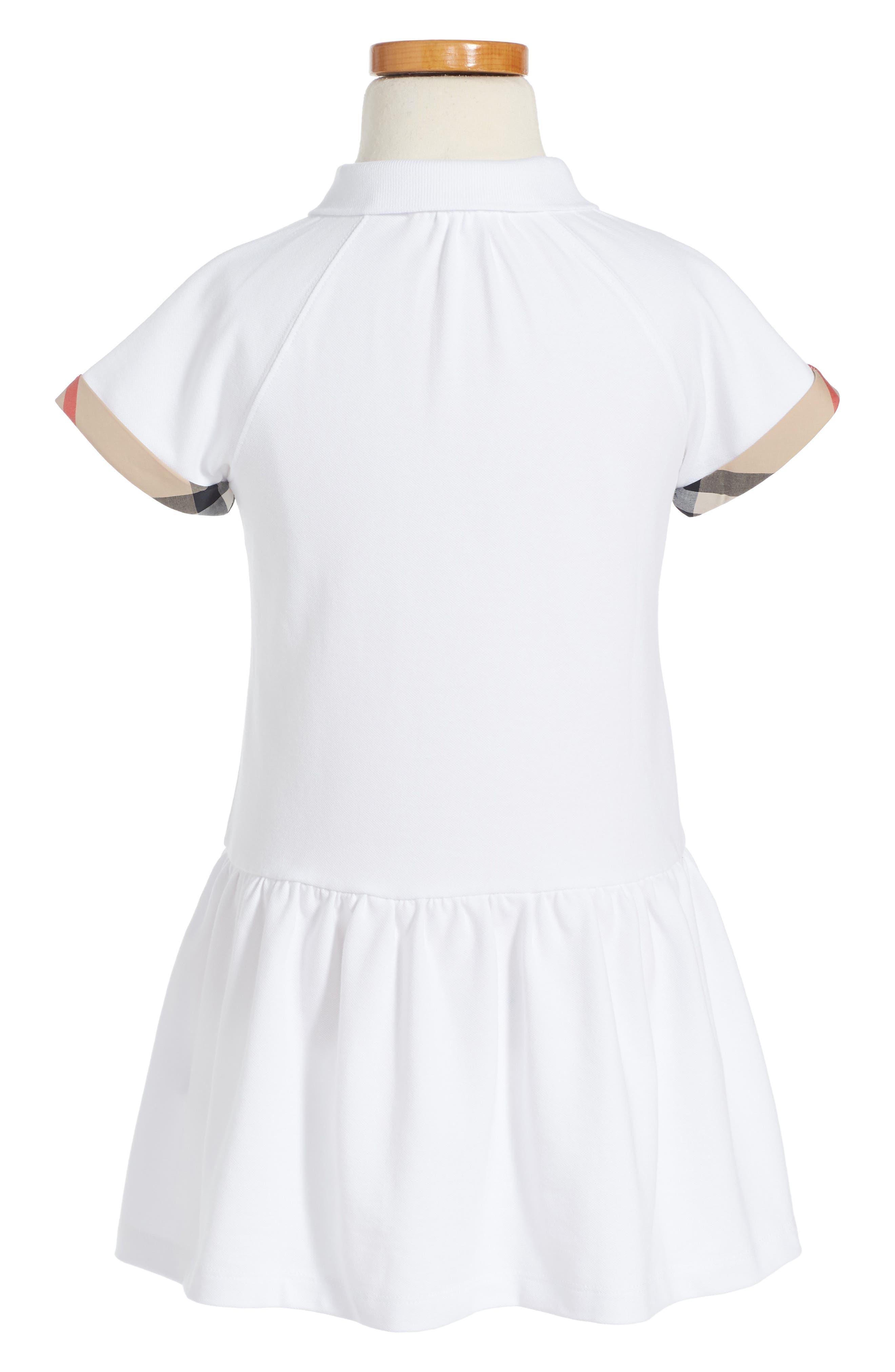 Alternate Image 2  - Burberry Cali Dress (Little Girls & Big Girls)