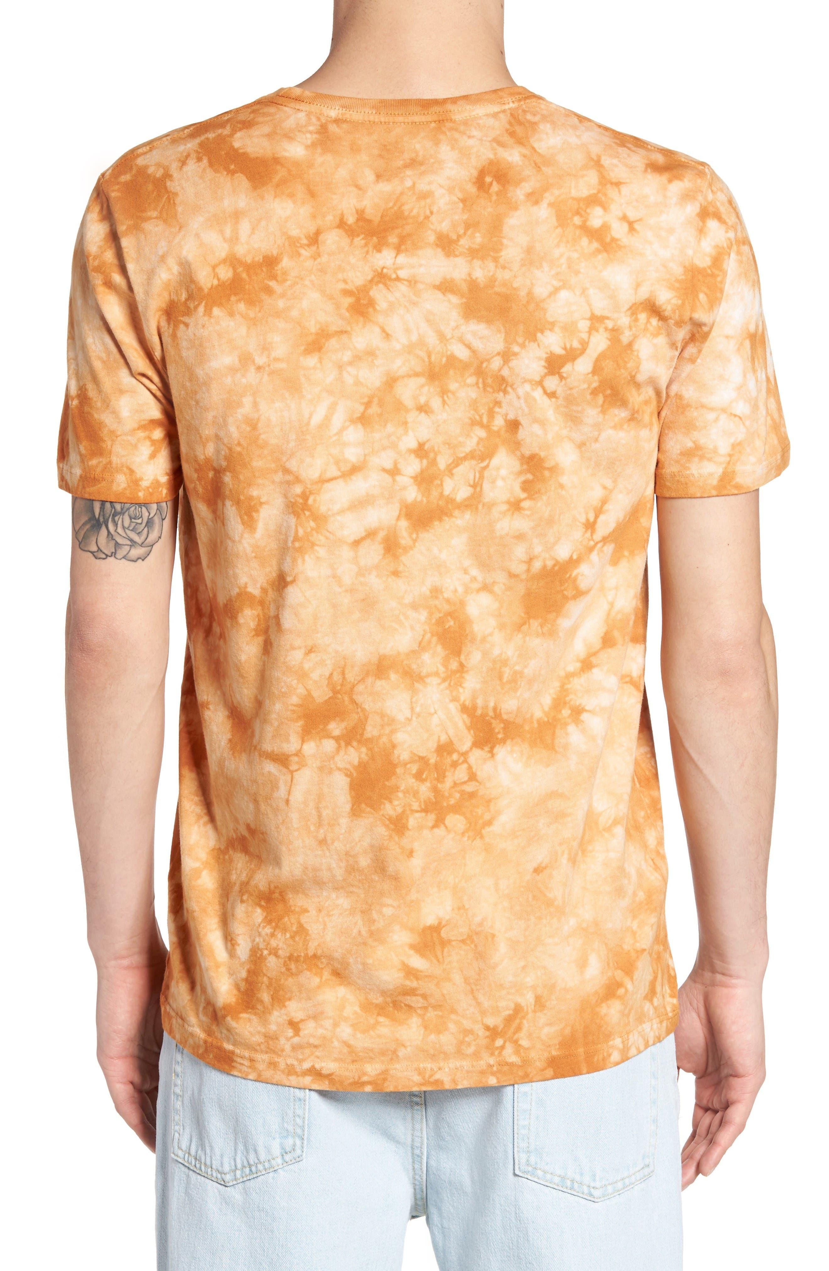 Tie Dye Kombucha Graphic T-Shirt,                             Alternate thumbnail 2, color,                             Cloud Desert Sand