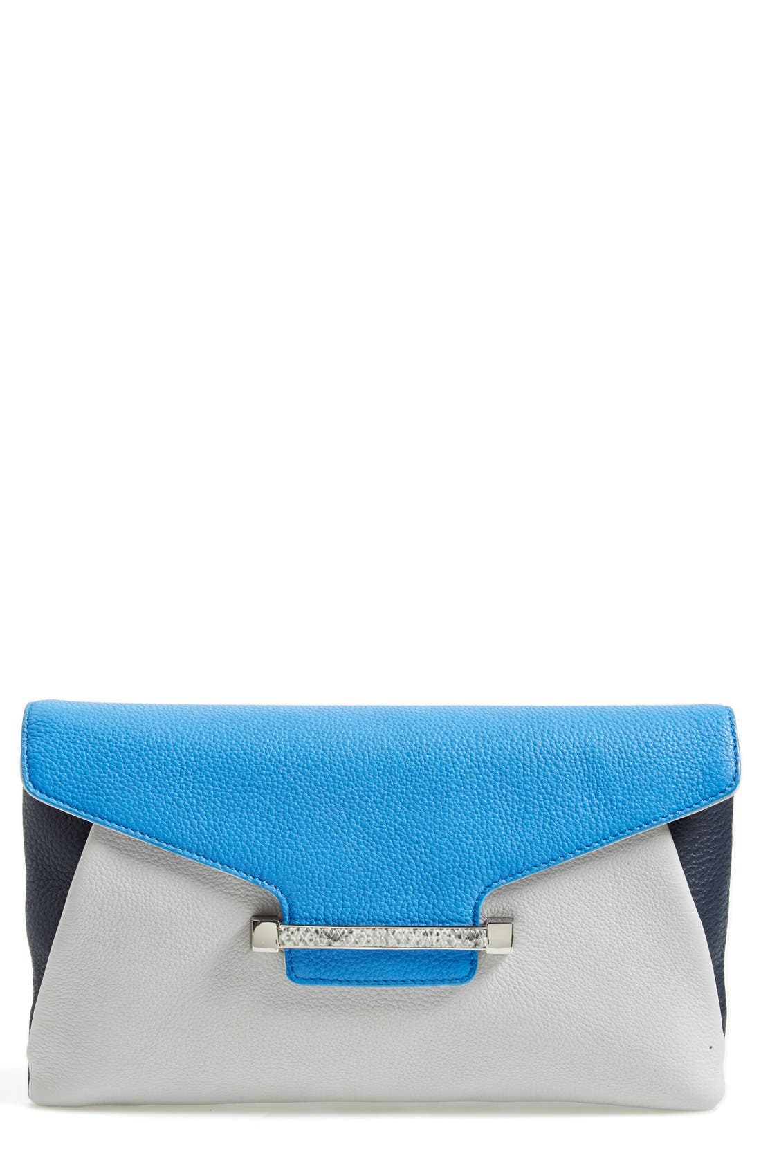 Main Image - Vince Camuto 'Julia' Leather Clutch