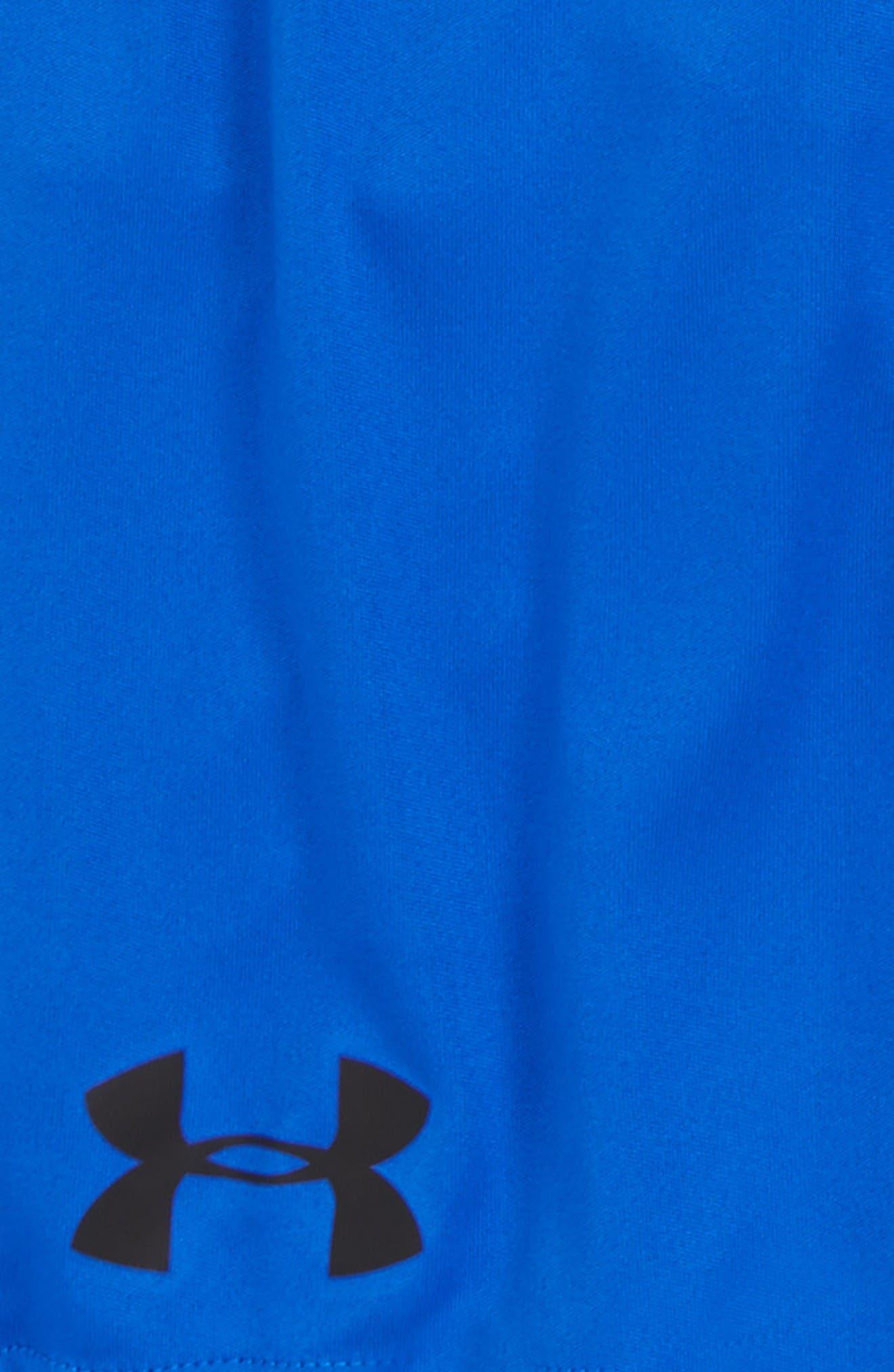 Stunt HeatGear<sup>®</sup> Shorts,                             Alternate thumbnail 2, color,                             Ultra Blue/ White/ Black