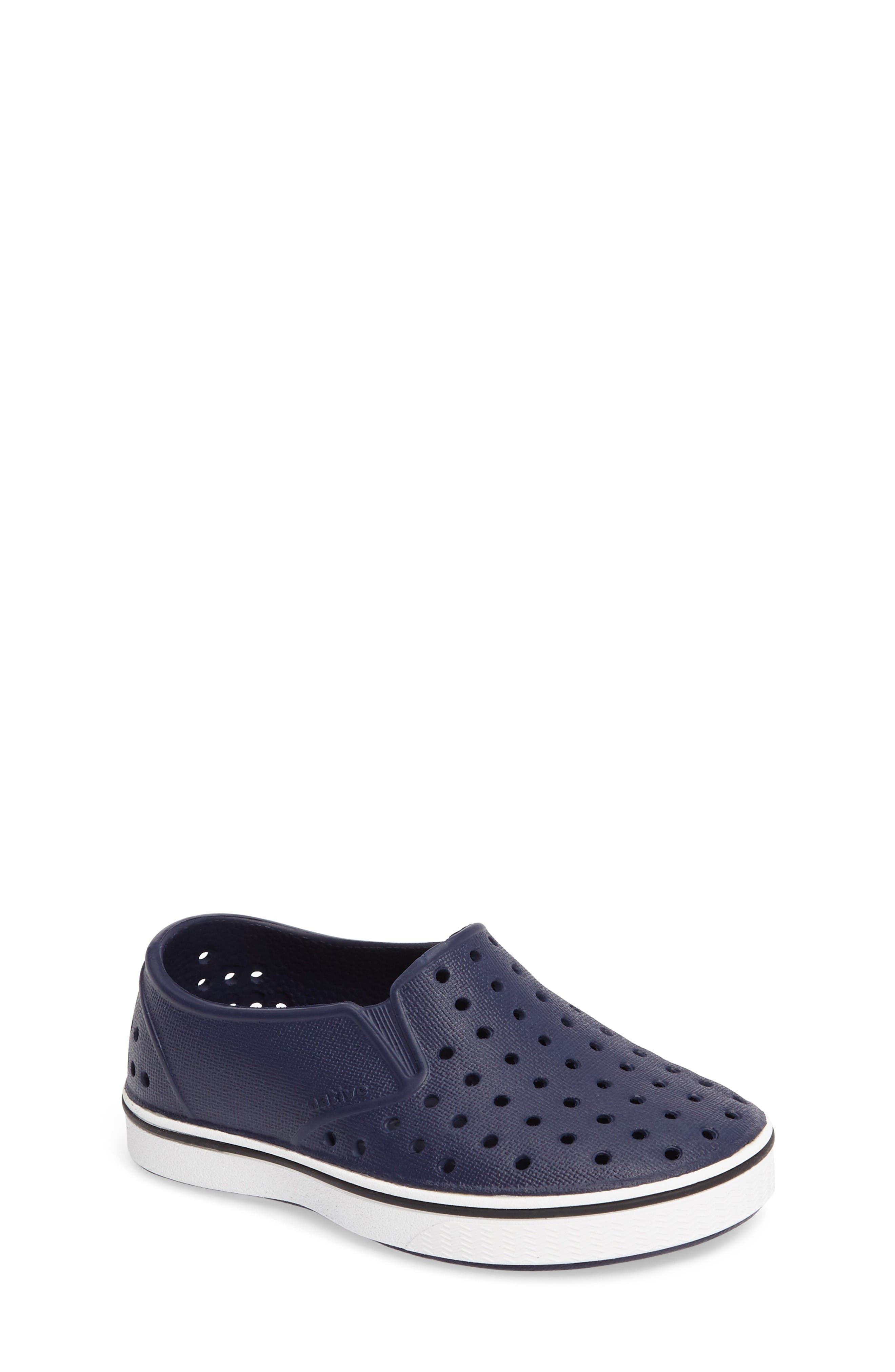 Native Shoes Miles Water Friendly Slip-On Sneaker (Baby, Walker, Toddler & Little Kid)