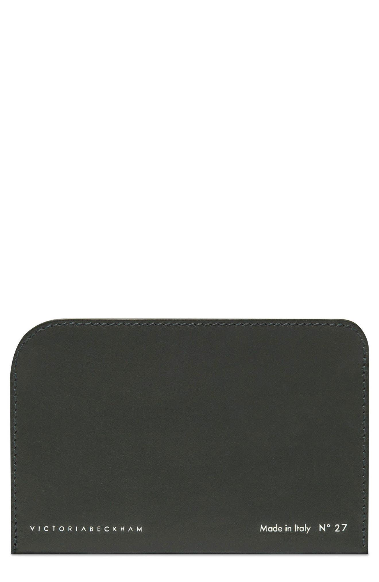 Main Image - Victoria Beckham Leather Card Case