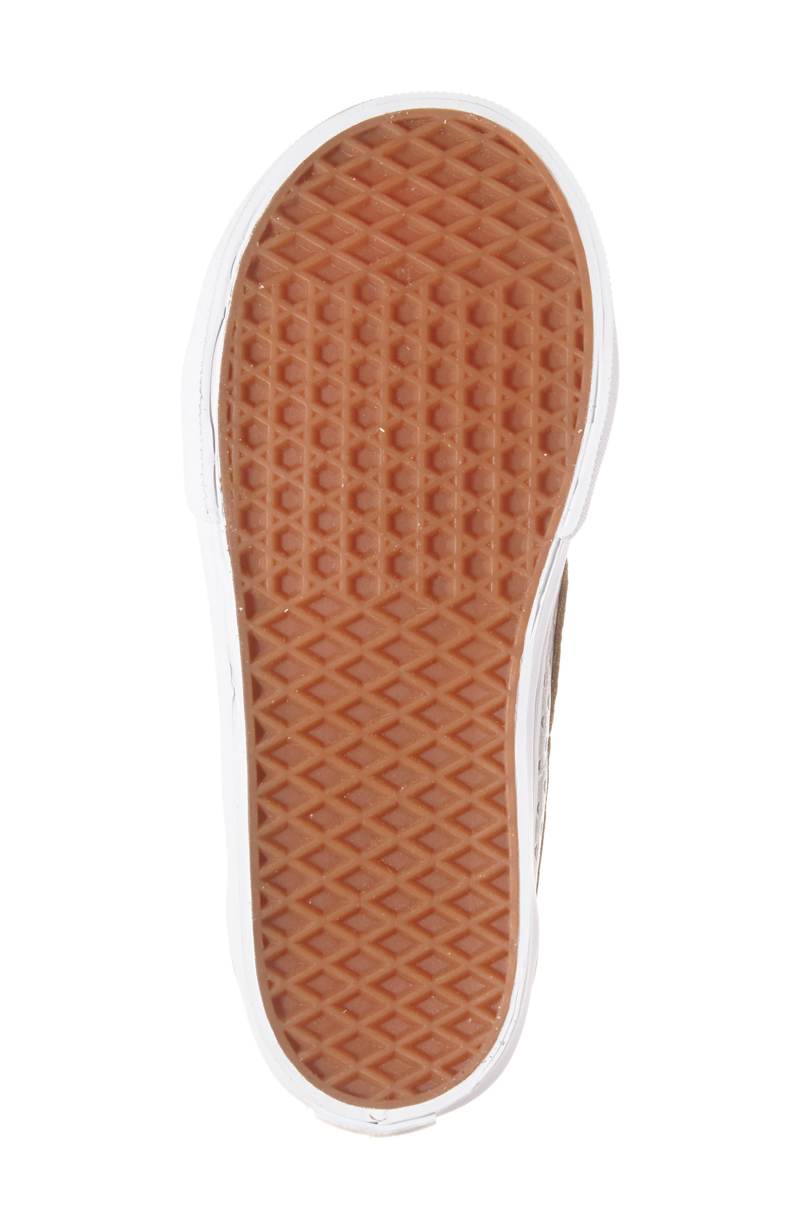 Alternate Image 6  - Vans Sk8-Hi Zip Sneaker (Baby, Walker, Toddler, Little Kid & Big Kid)