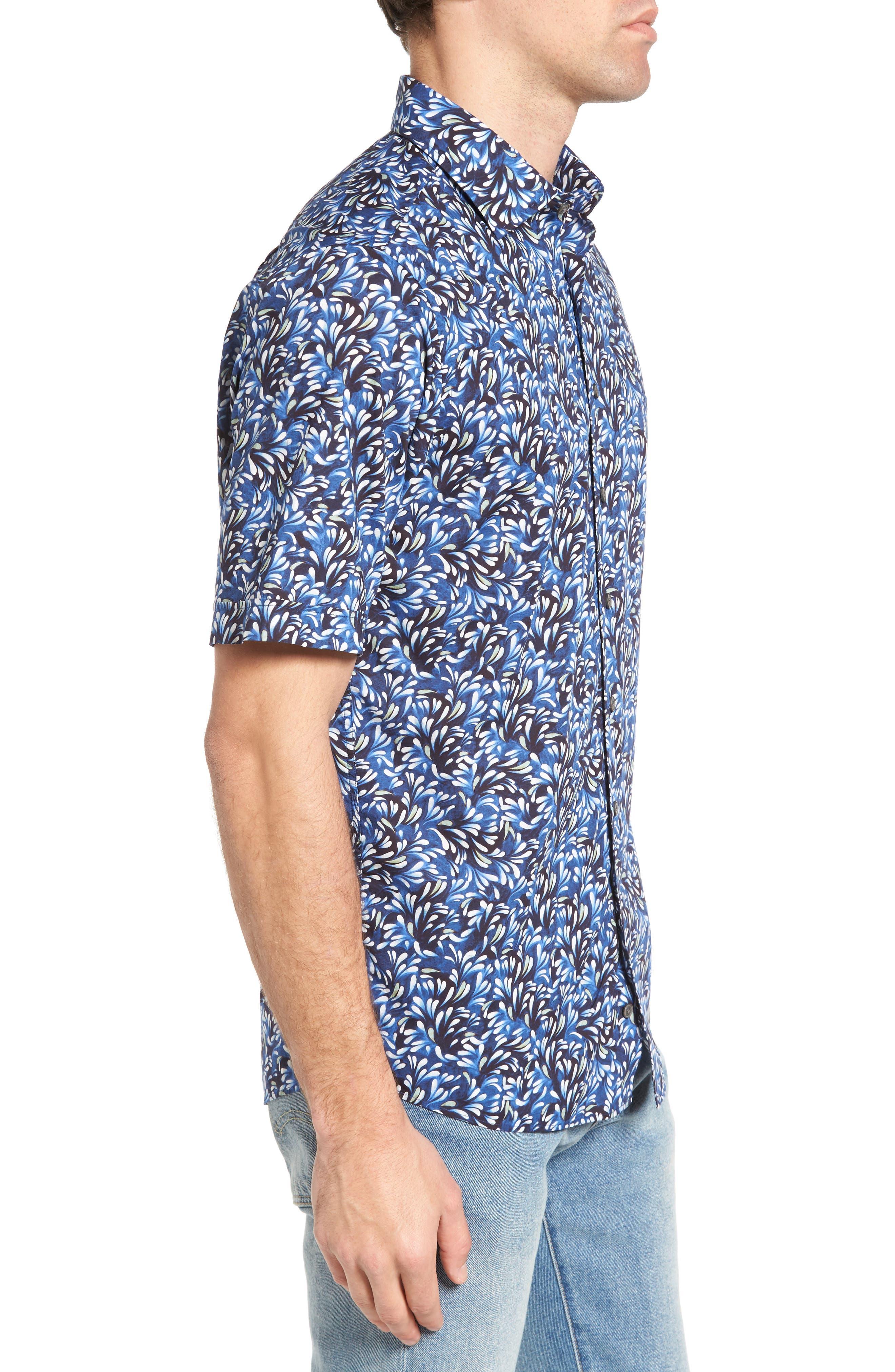 Alternate Image 3  - Rodd & Gunn Sunset Road Original Fit Print Sport Shirt