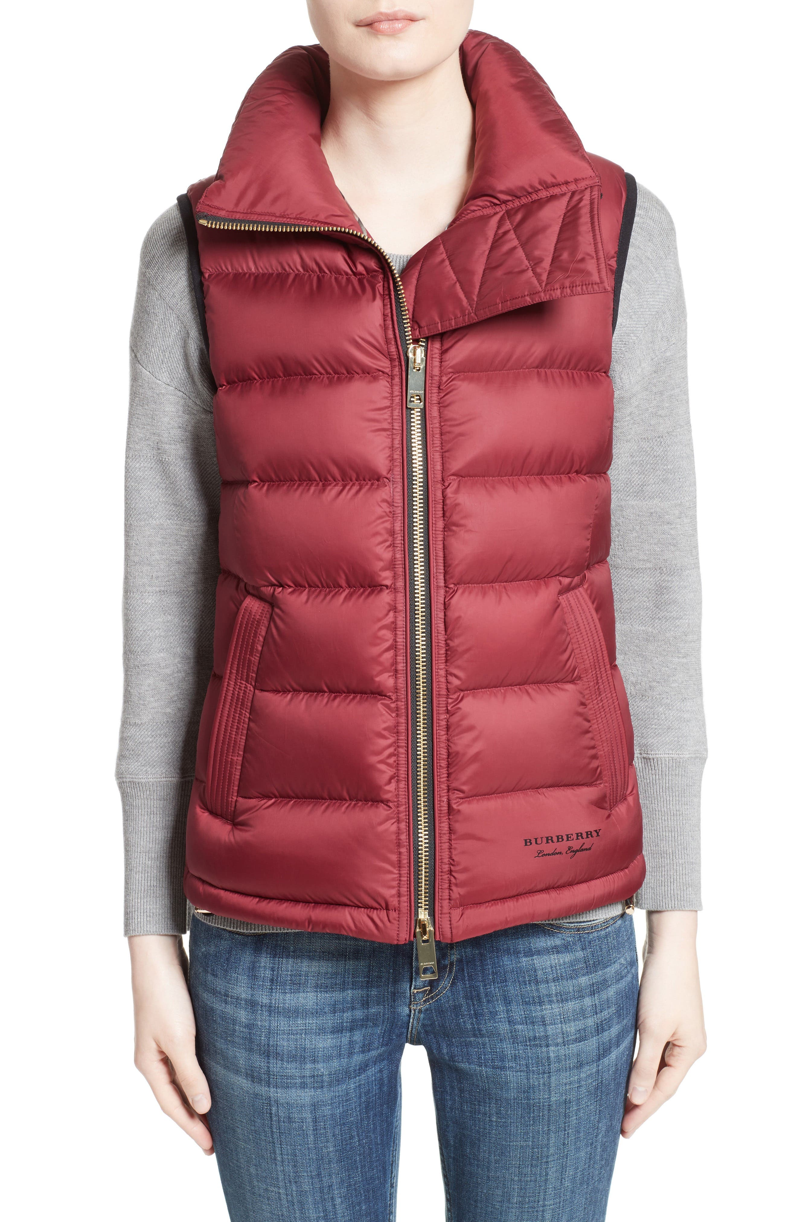 Burberry Bredon Quilted Puffer Vest