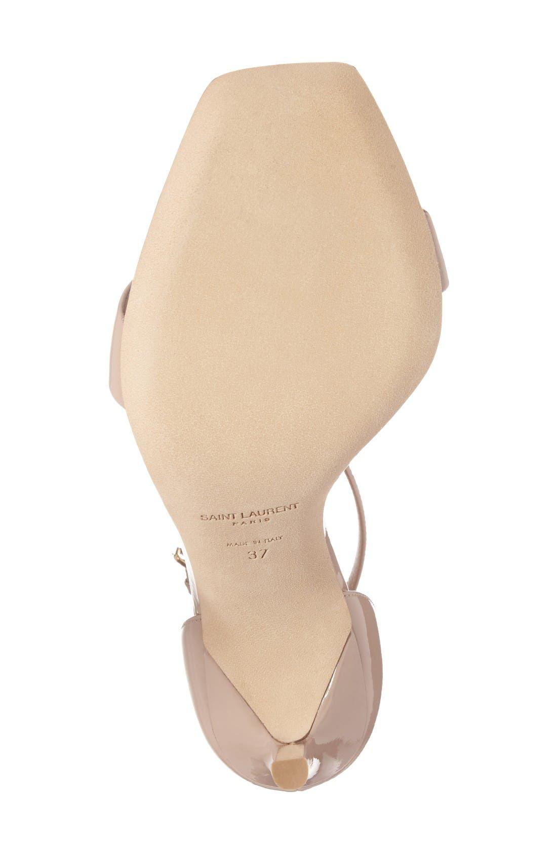 Alternate Image 6  - Saint Laurent Amber Ankle Strap Sandal (Women)
