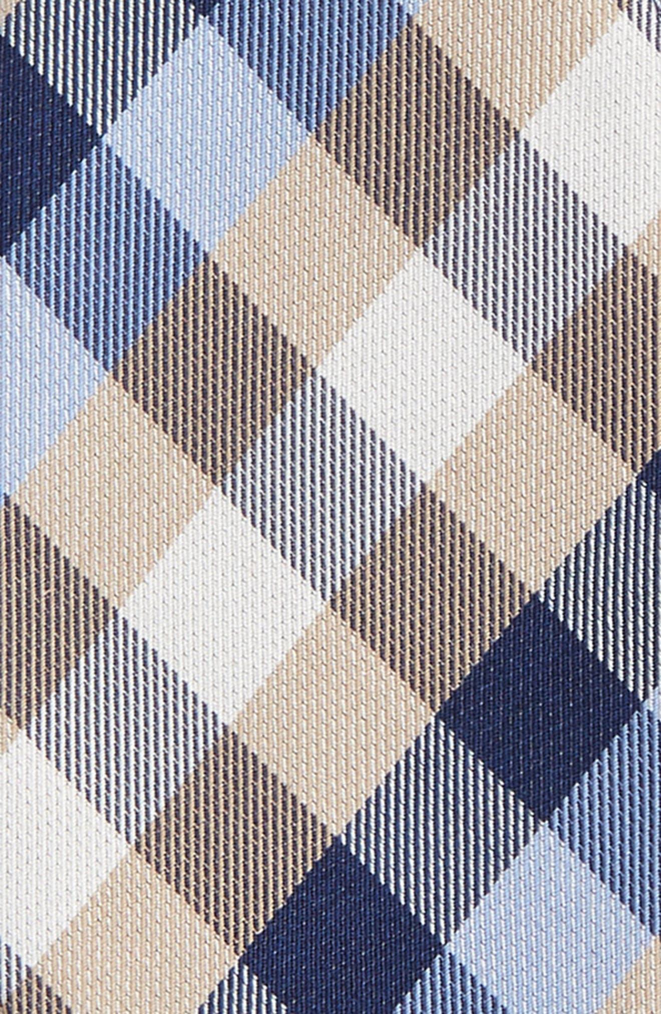 Alternate Image 3  - John W. Nordstrom® Check Silk Bow Tie
