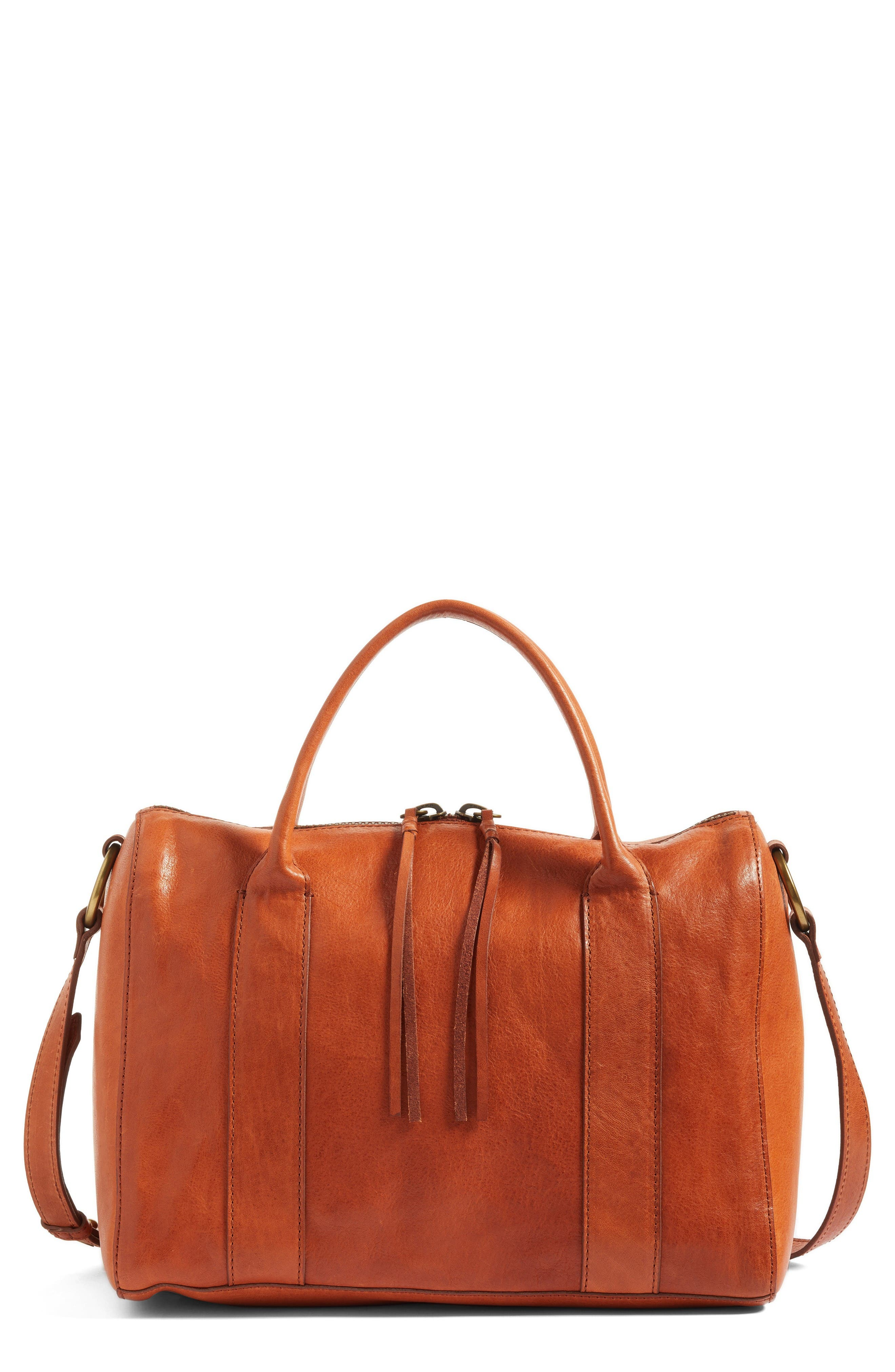 MADEWELL O-Ring Leather Satchel