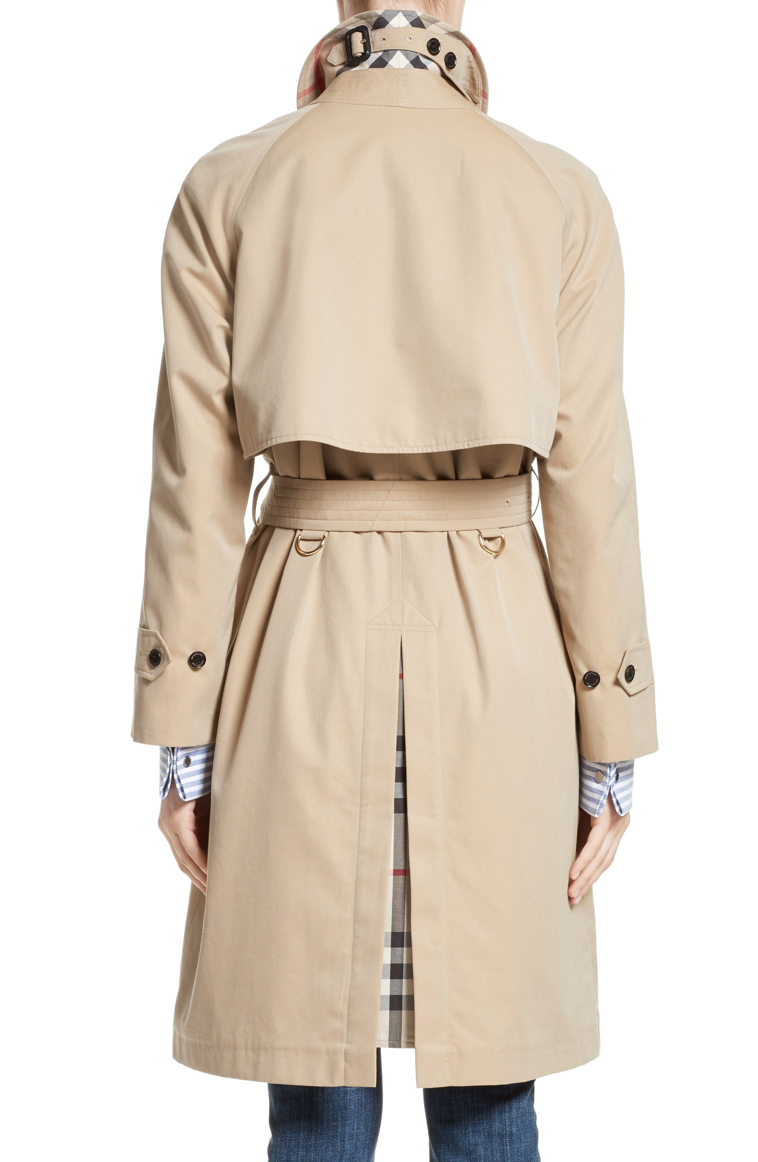 Brinkhill Trench Coat,                             Alternate thumbnail 2, color,                             Honey