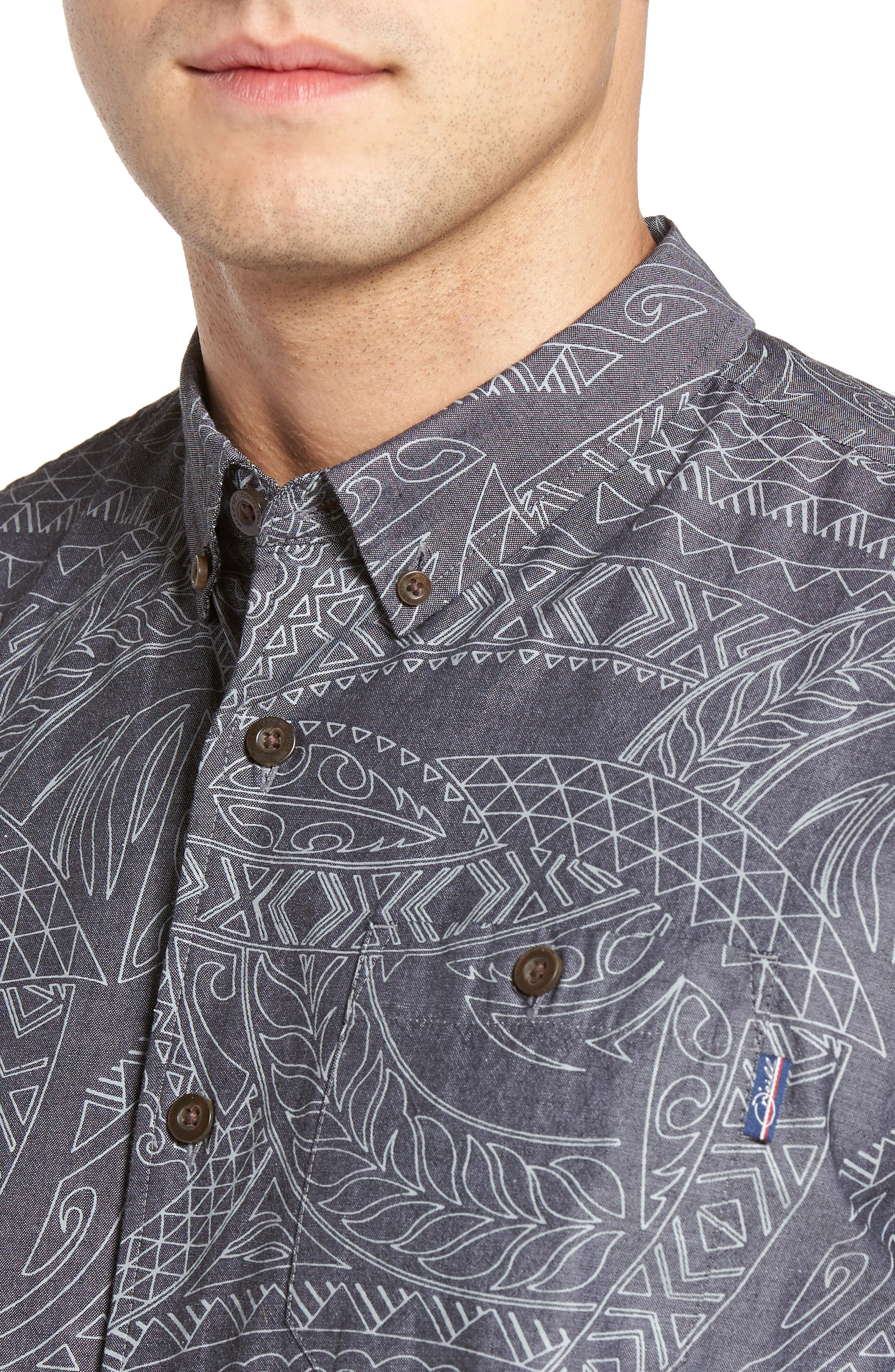 Alternate Image 4  - Jack O'Neill Alika Print Sport Shirt