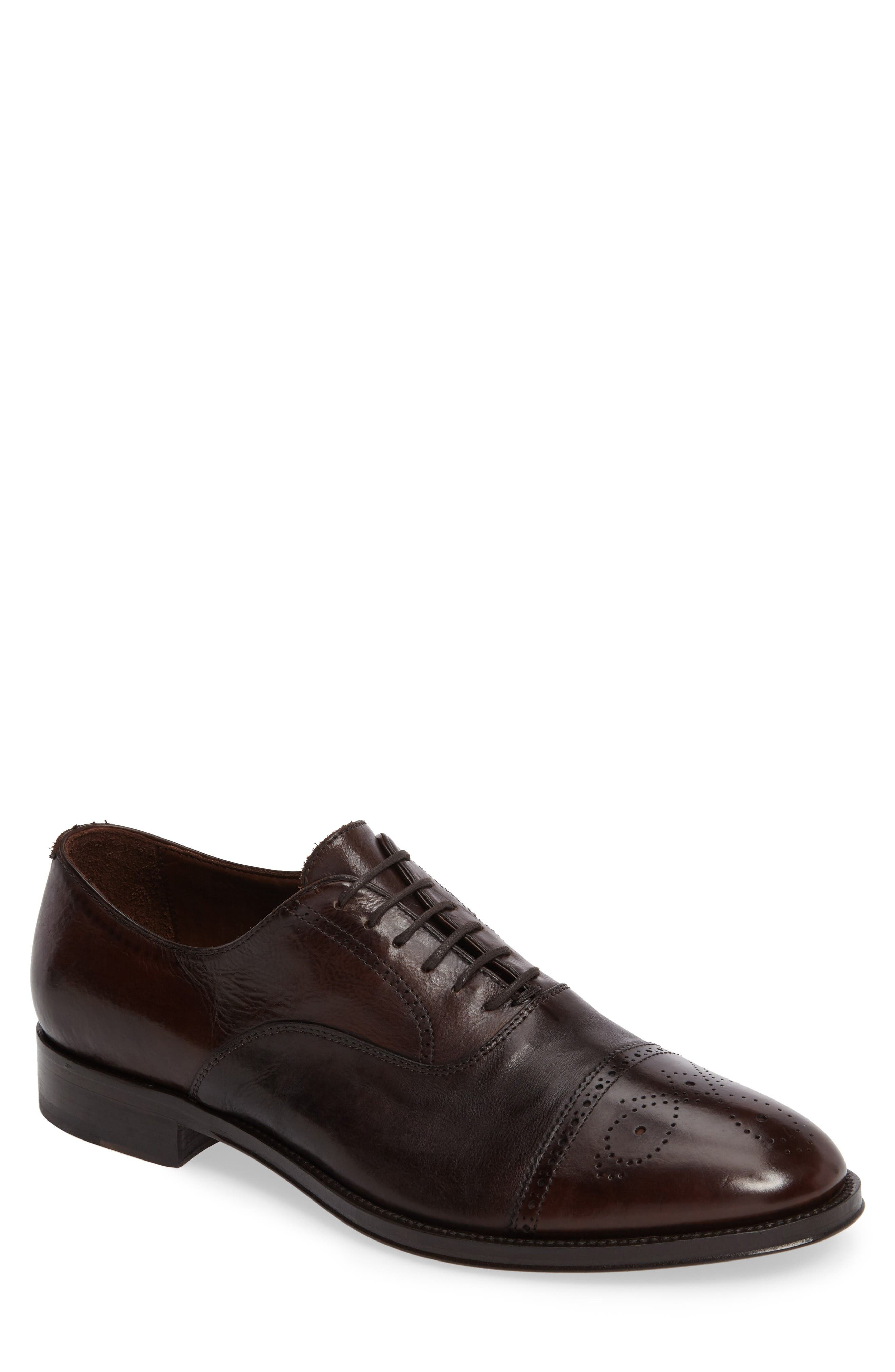 Gordon Rush Jaxon Cap Toe Oxford (Men)
