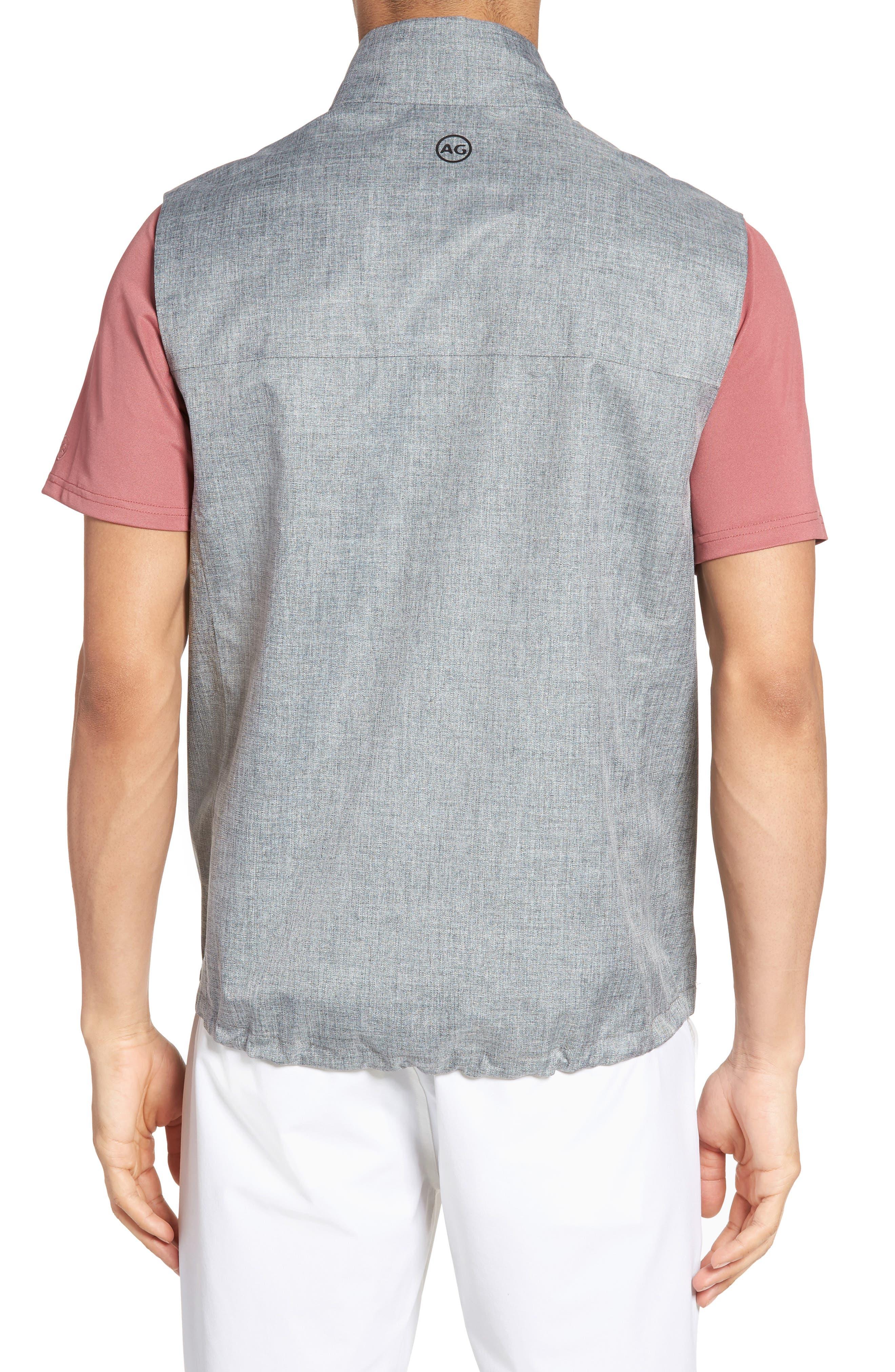 The Newton Vest,                             Alternate thumbnail 2, color,                             Heather Grey