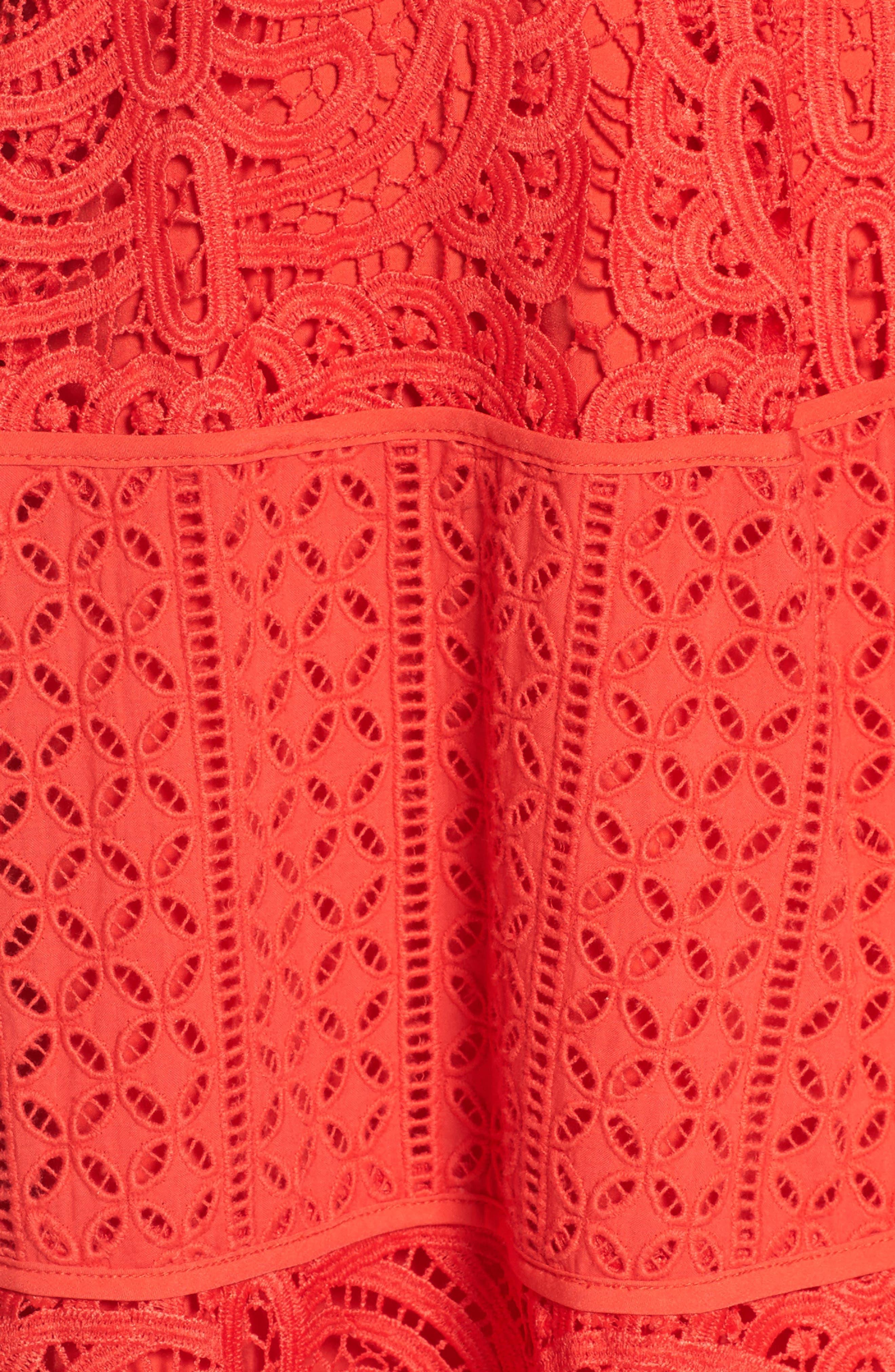 Alternate Image 5  - Adelyn Rae Fit & Flare Midi Dress