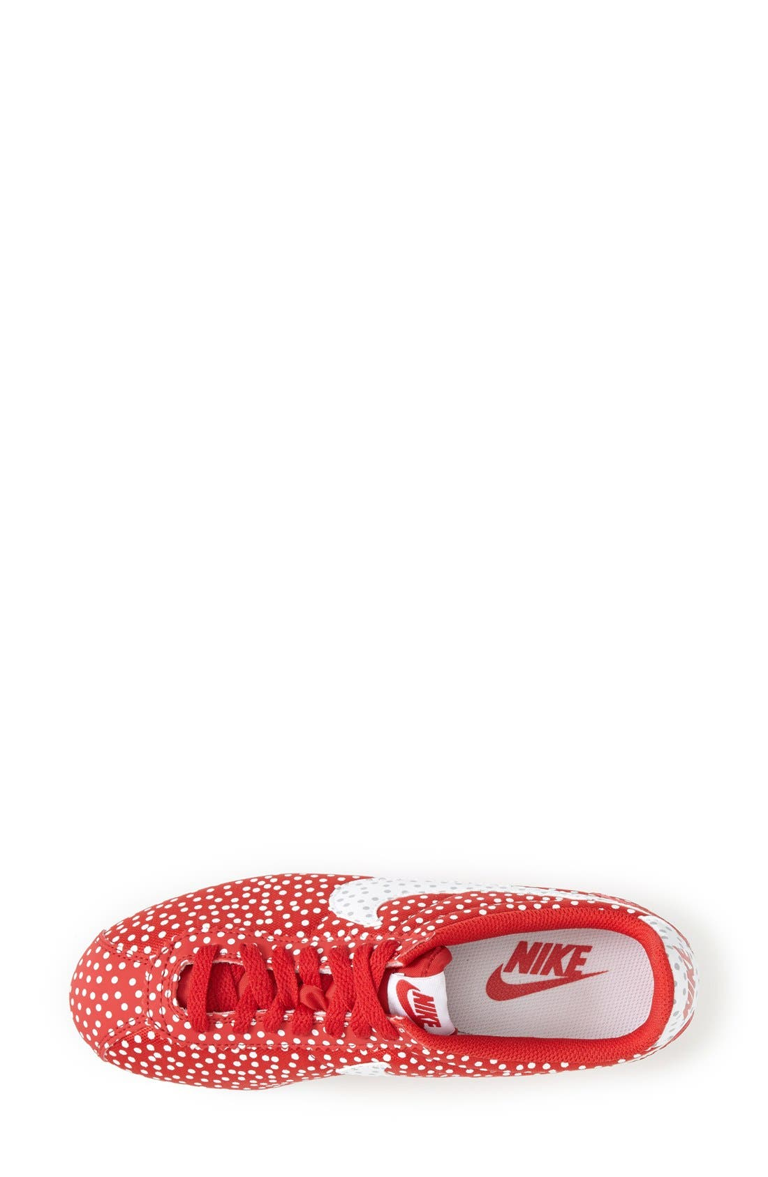 Alternate Image 3  - Nike 'Cortez - Polka Dot Print' Sneaker (Women)