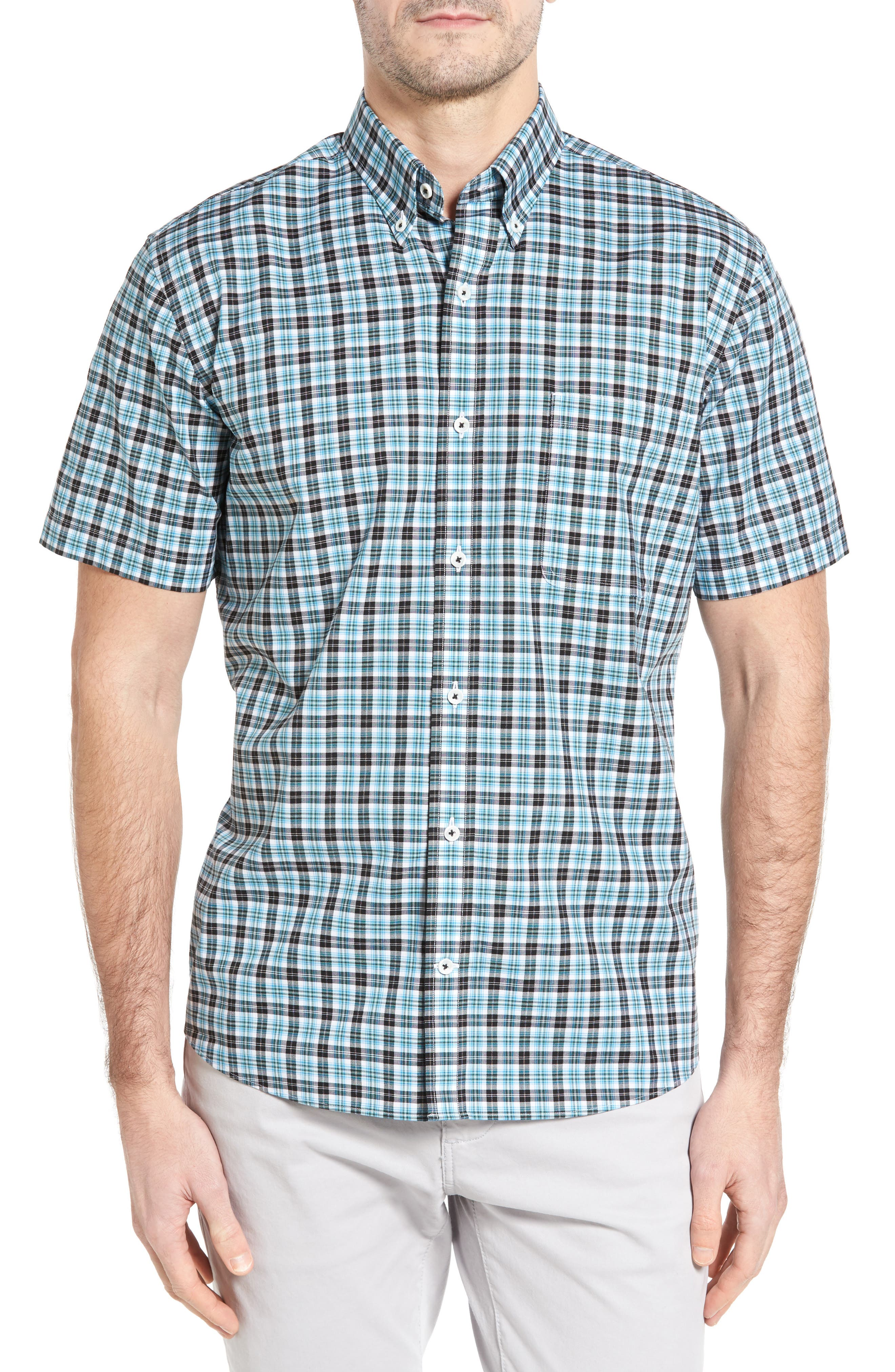Maker & Company Regular Fit Check Twill Sport Shirt
