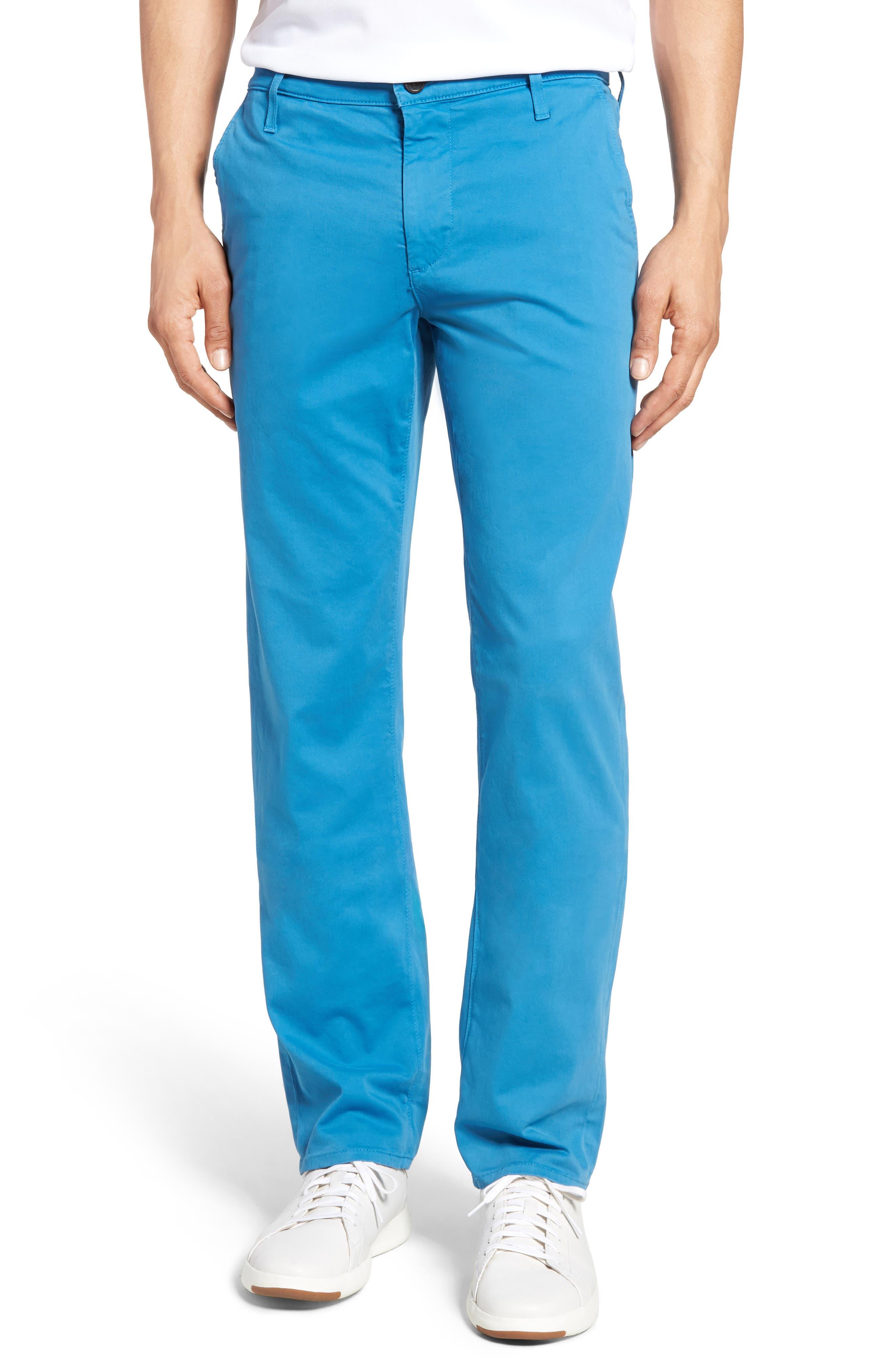 The Graduate Trousers,                         Main,                         color, Blue Creek