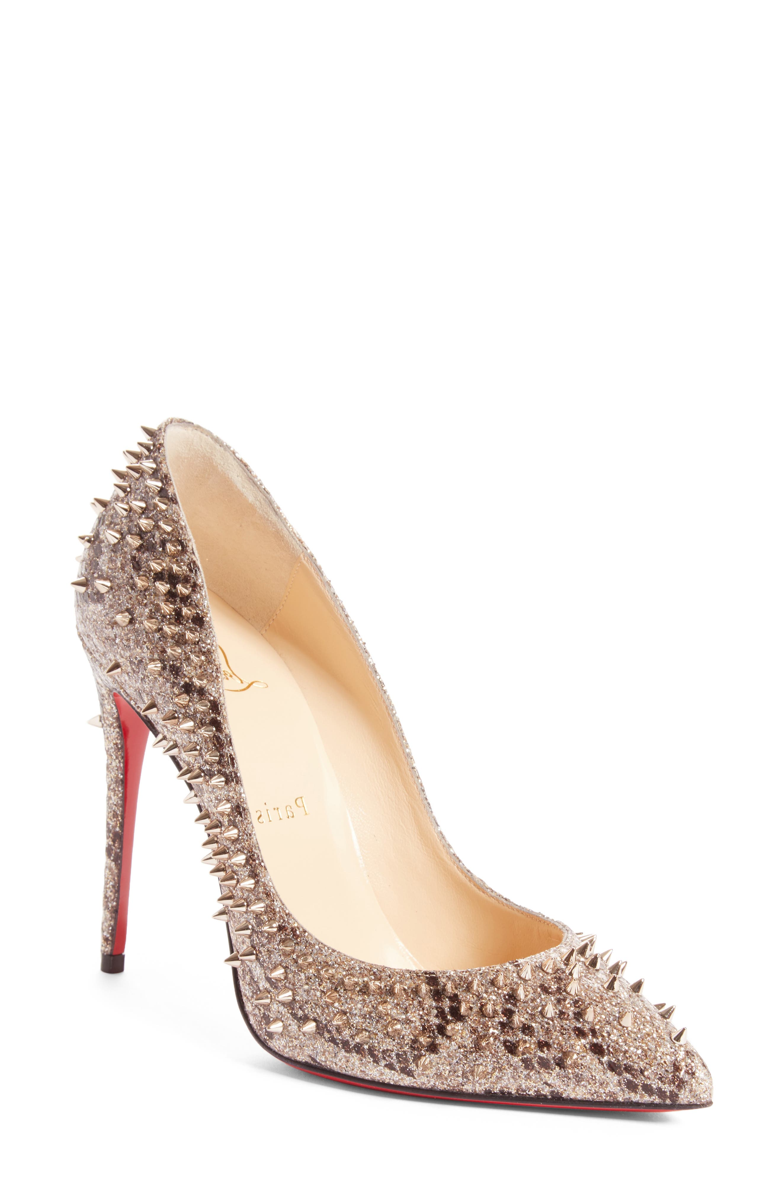 Main Image - Christian Louboutin Escarpic Spike Pump (Women)