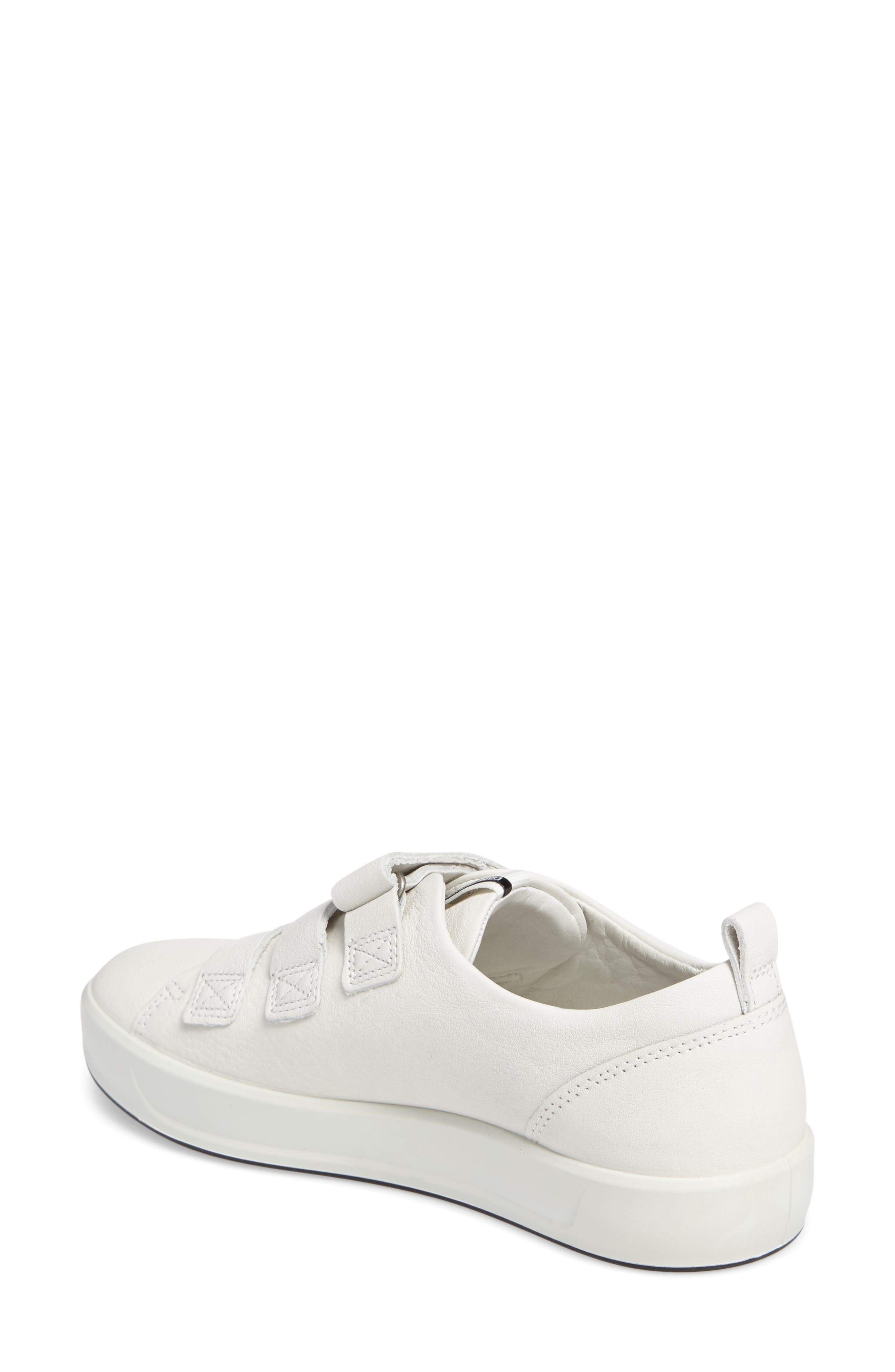Soft 8 Sneaker,                             Alternate thumbnail 2, color,                             White Leather